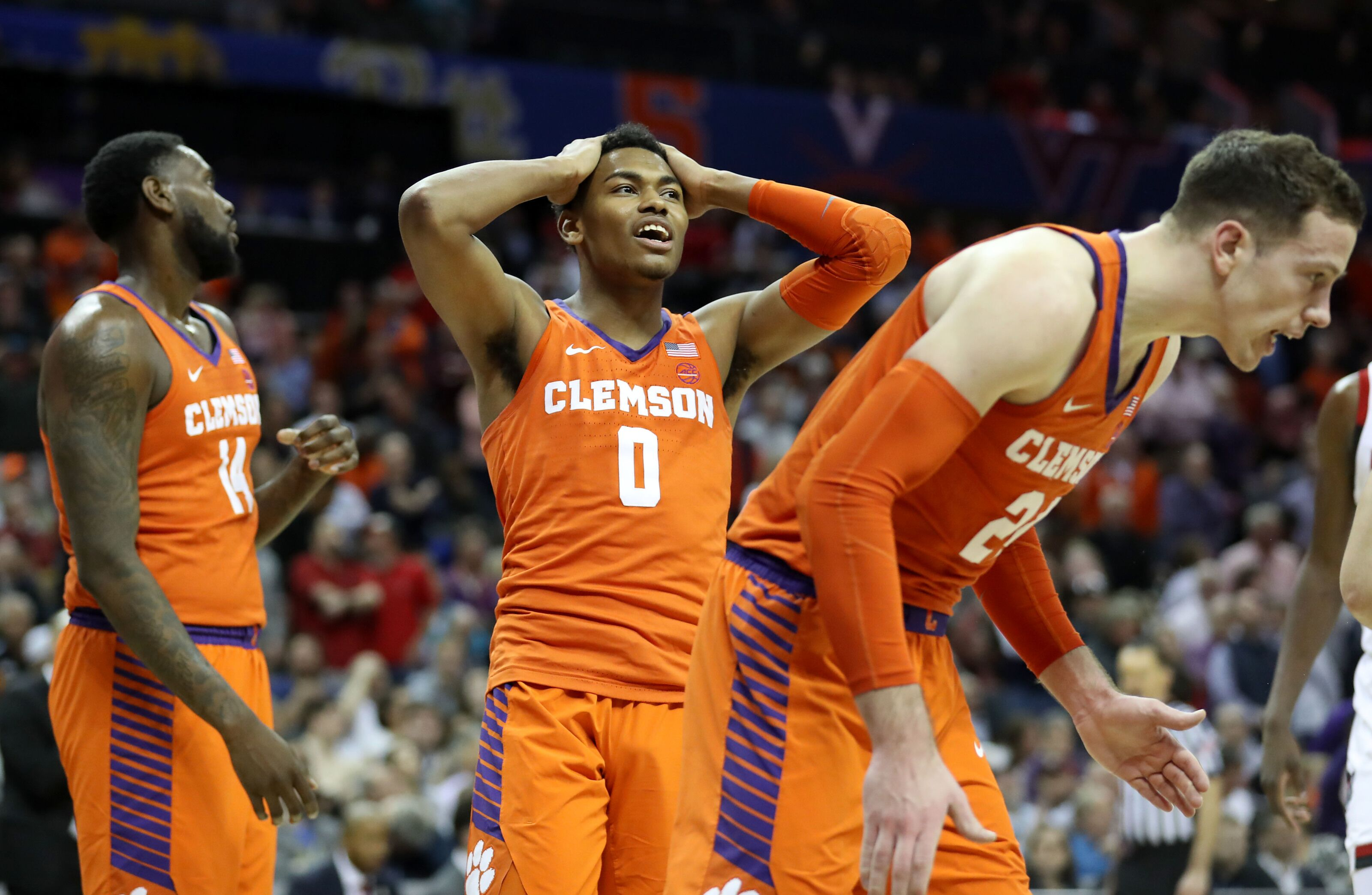 finest selection 7ac34 d7911 Clemson Basketball: Clyde Trapp injury dampens Tigers' 2019 ...