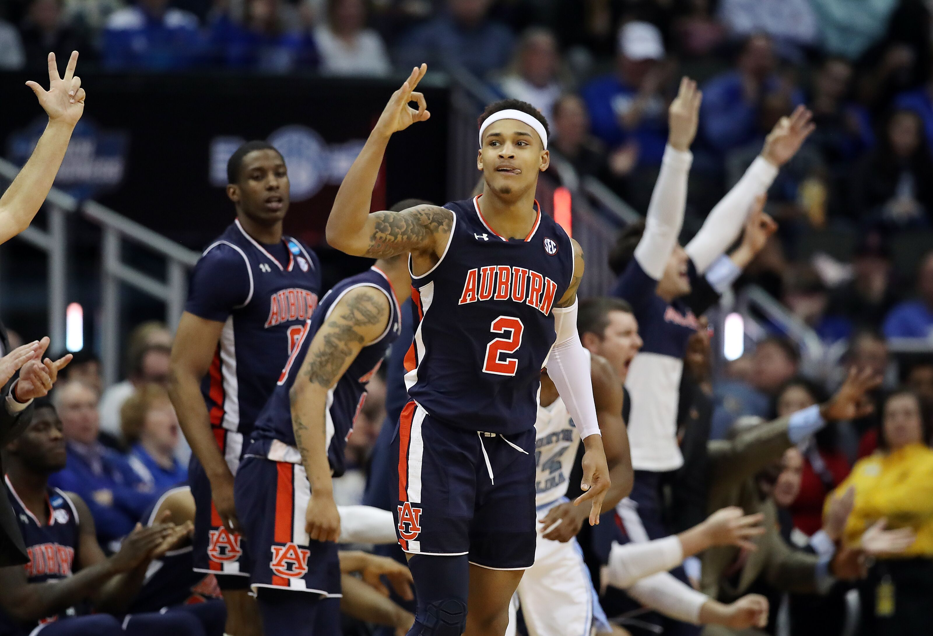 Auburn Basketball Keys For Tigers To Beat Virginia In Final