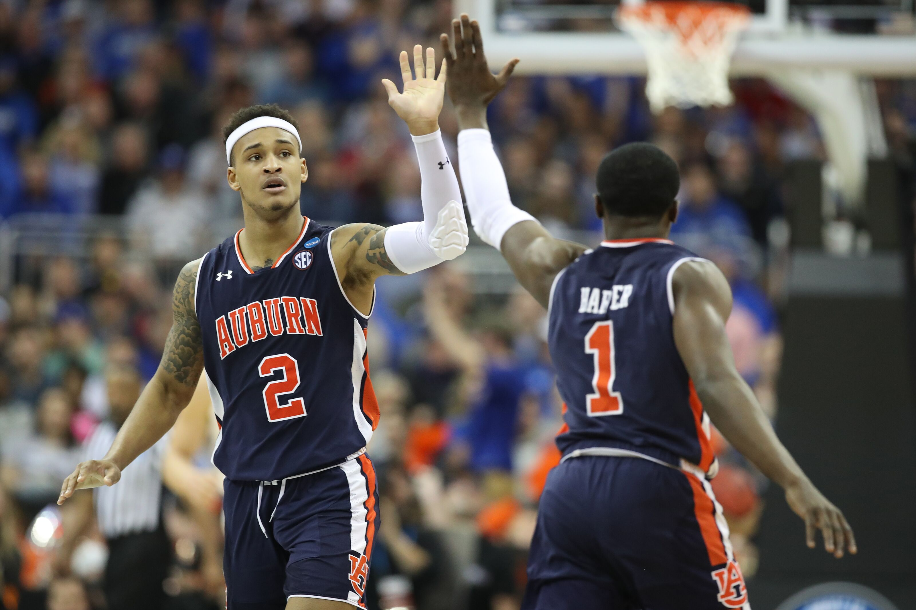 Auburn Basketball Unhearlded Guard Play Leads Tigers To