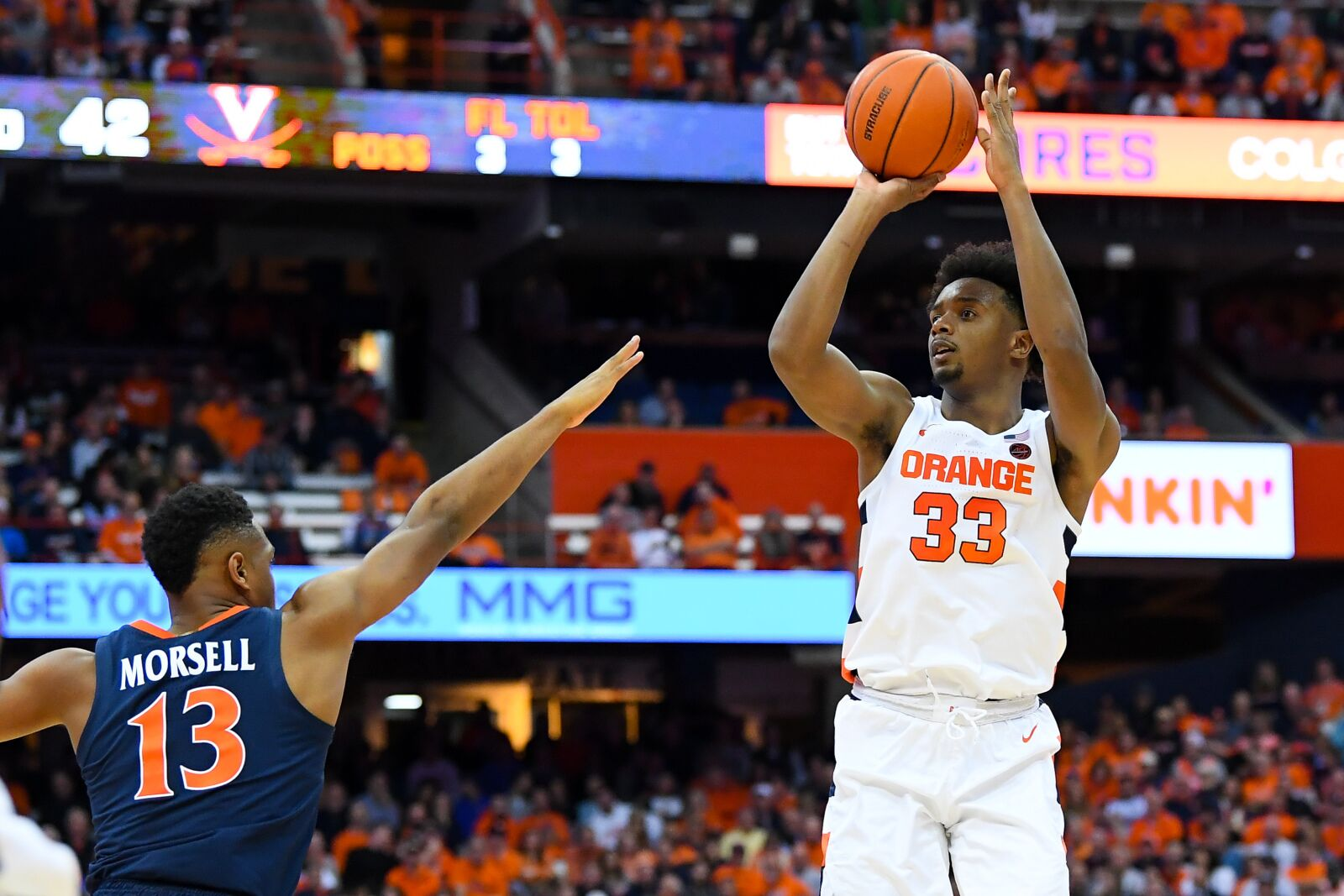 Syracuse Basketball Orange Offense Fails In Season Opener