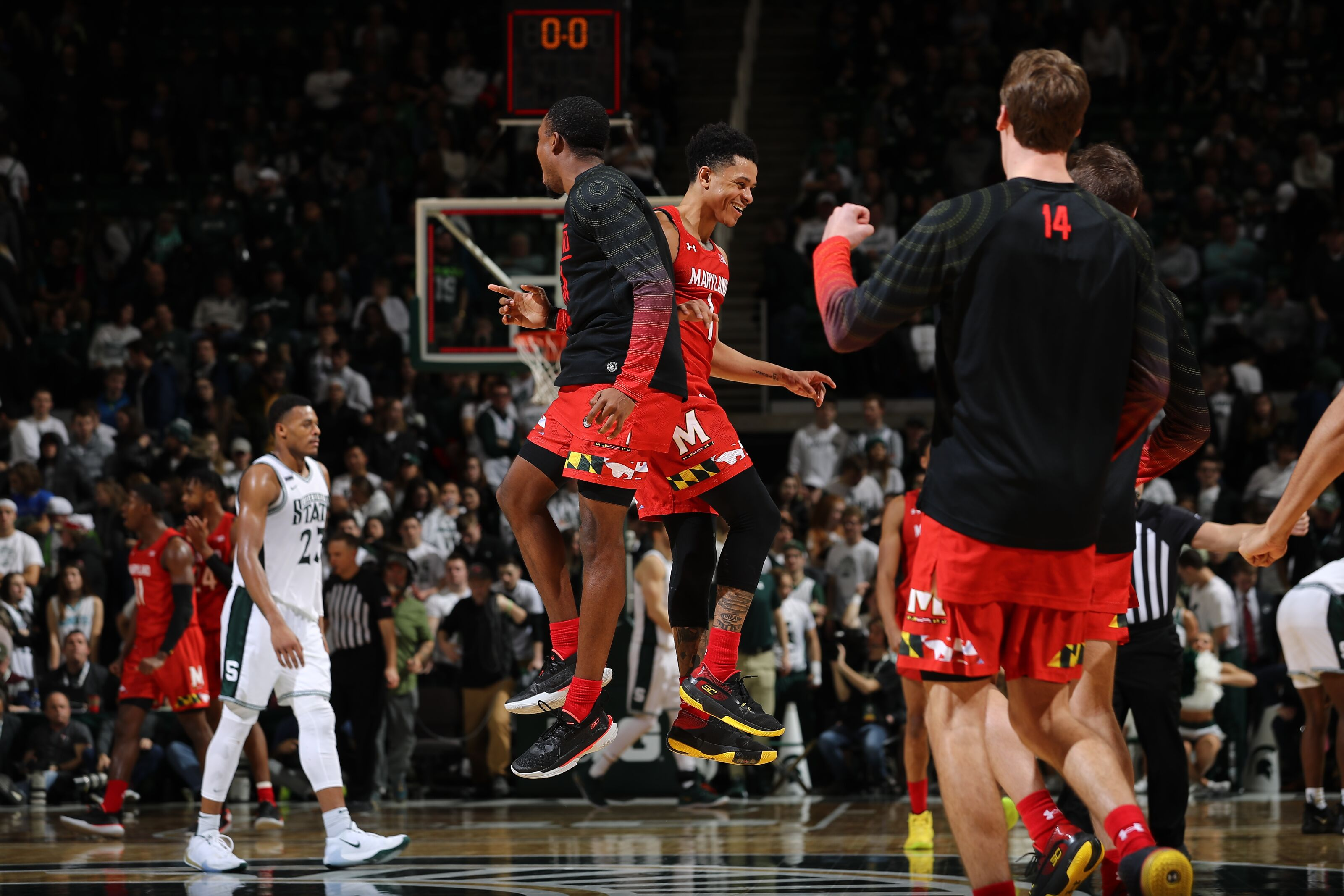 Maryland Basketball: Takeaways from comeback road win over Michigan State