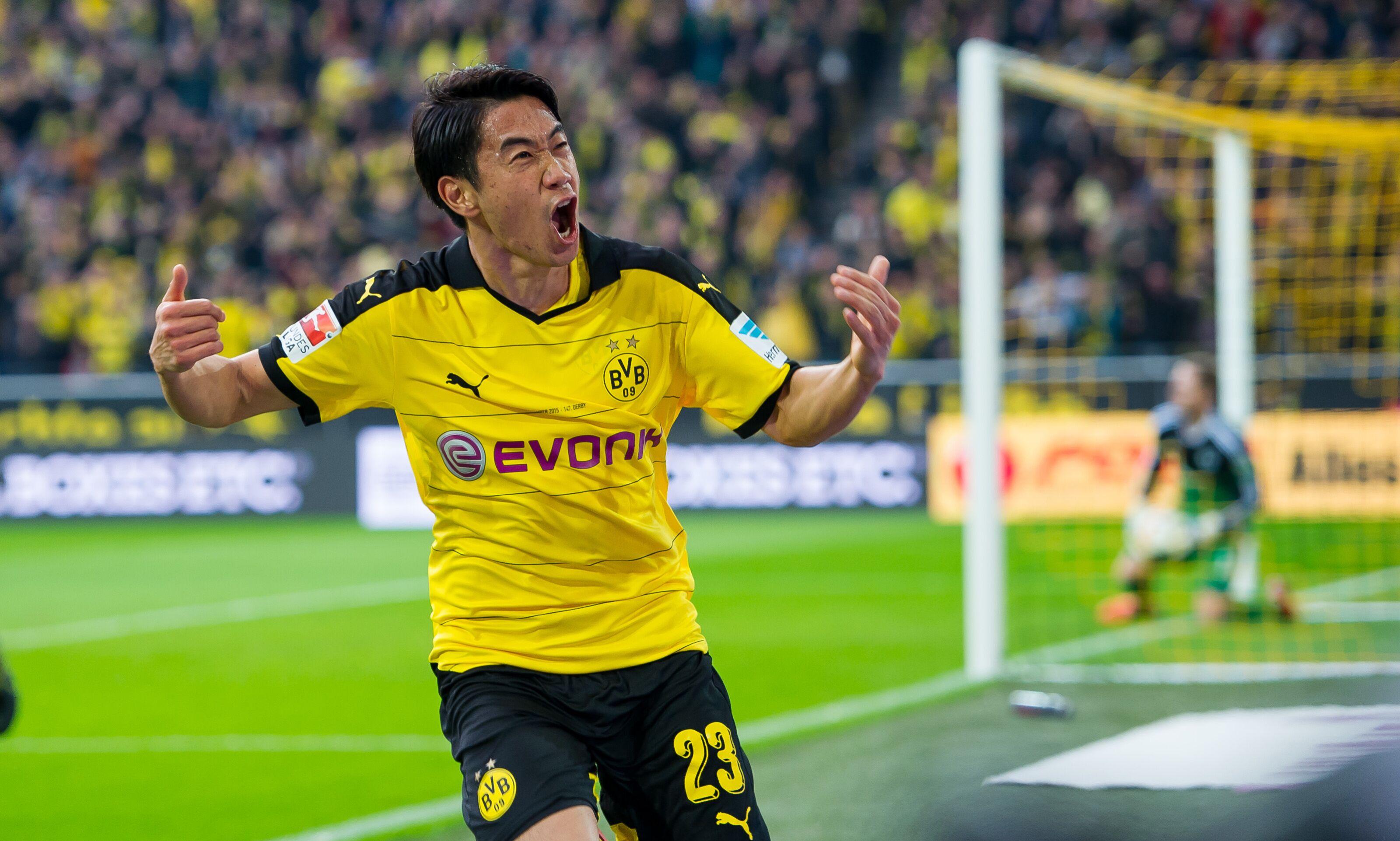 Shinji Kagawa leaves Borussia Dortmund to join Real Zaragoza