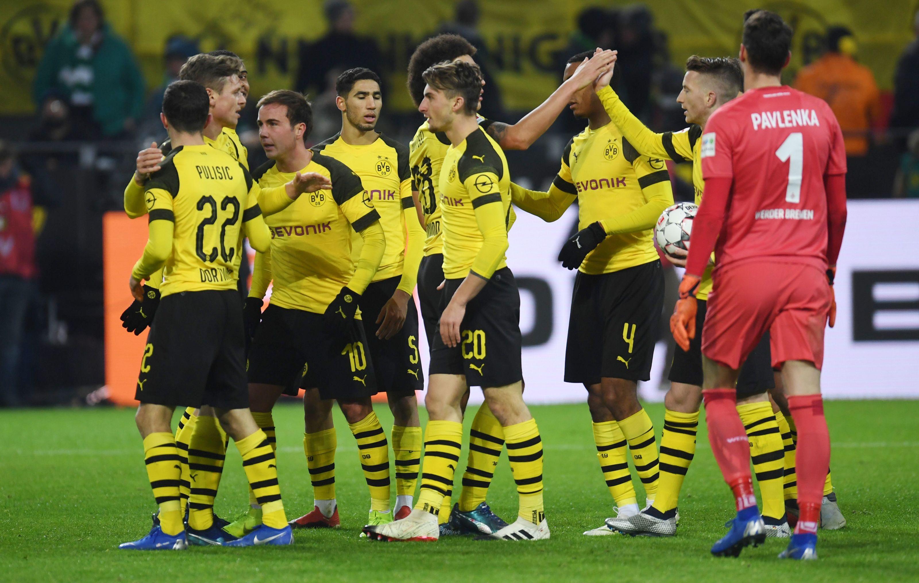 Fortuna Dusseldorf Vs Borussia Dortmund Expected Starting Xi