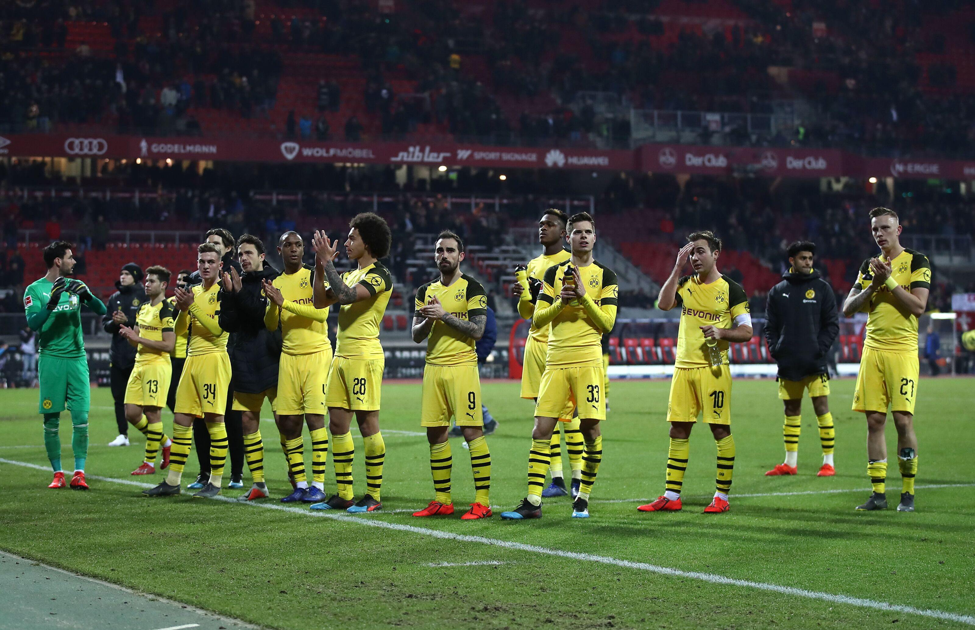 Key Takeaways from Borussia Dortmund's draw against Nürnberg