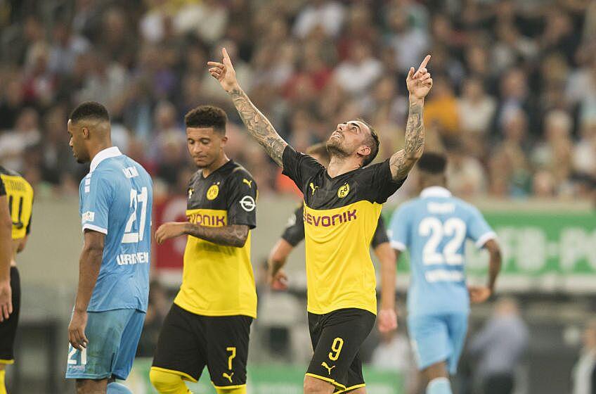 Takeaways from Borussia Dortmund's first round DFB Pokal win