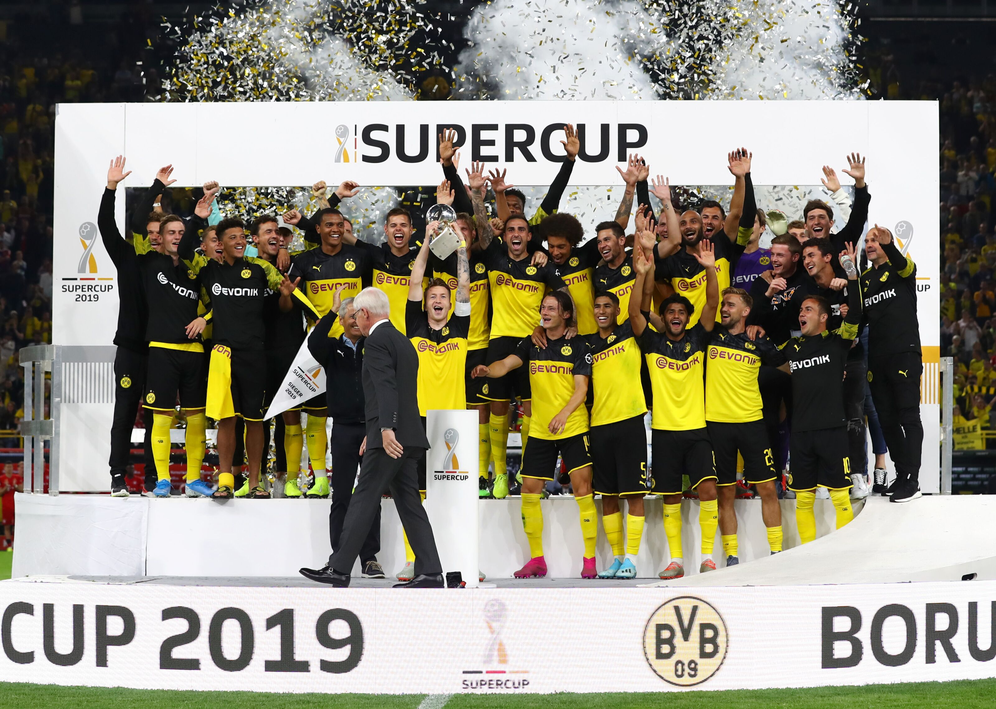 Borussia Dortmund win DFL-Supercup with 2-0 win over Bayern Munich