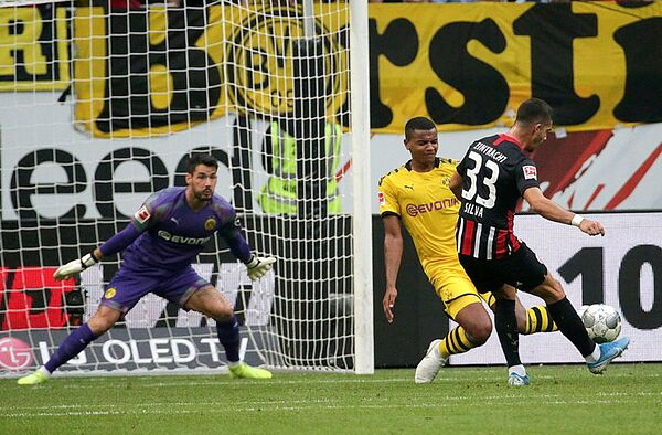 Player Ratings from Borussia Dortmund's 2-2 draw with Eintracht Frankfurt