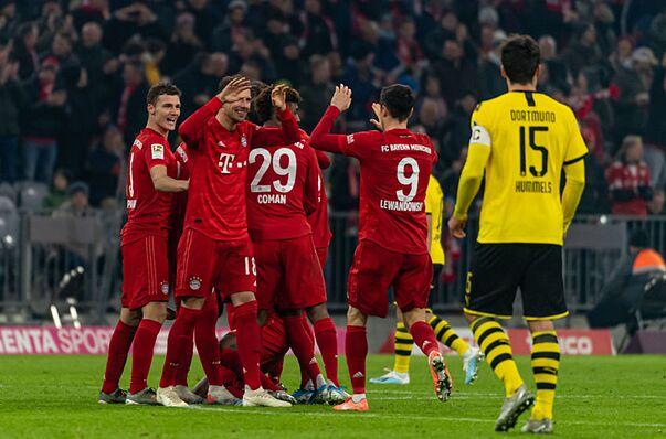 Bundesliga Roundup: Bayern thrash Borussia Dortmund, Leipzig, Hoffenheim earn come from behind wins