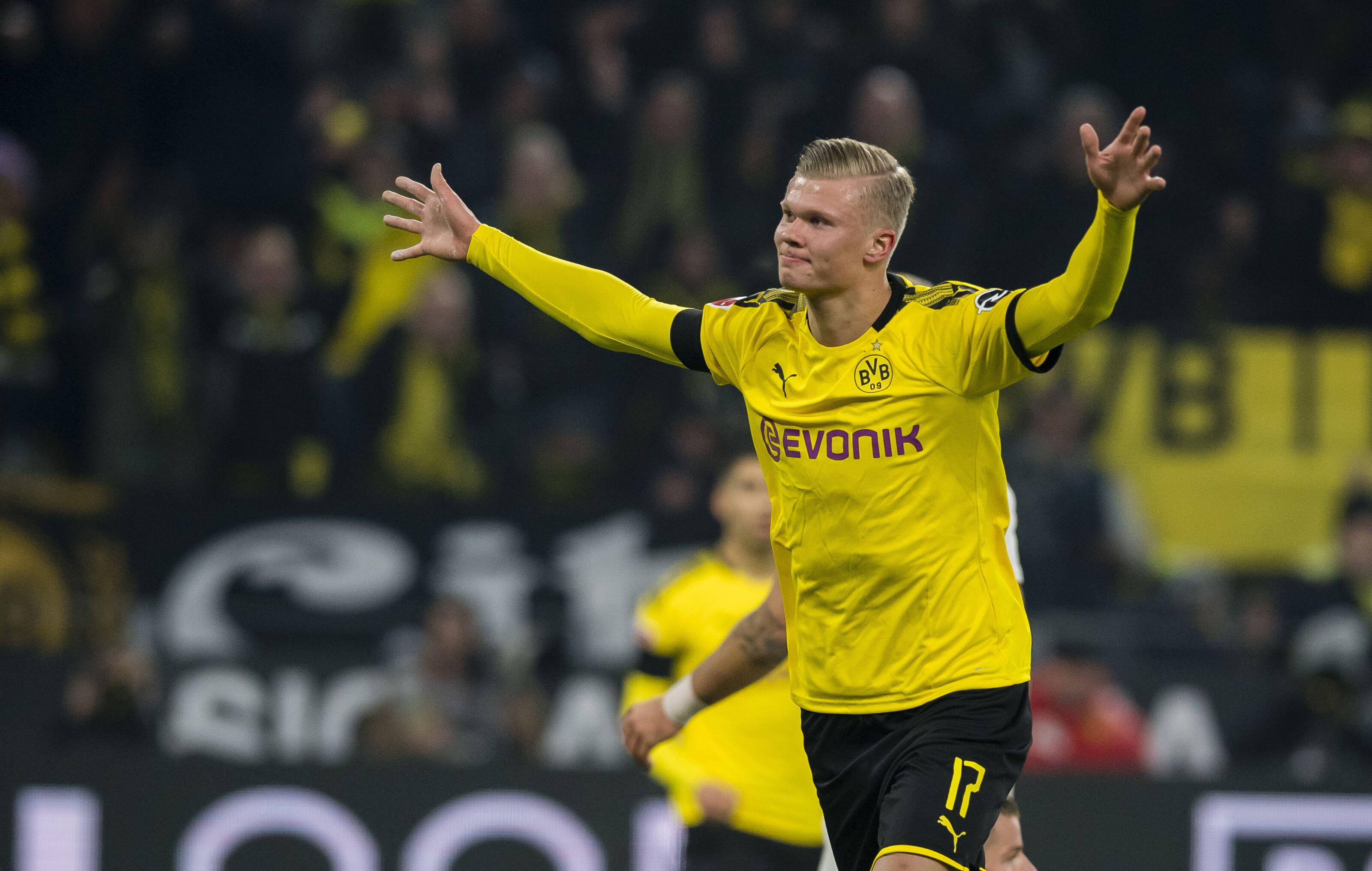 Borussia Dortmund teammates rave about free-scoring Erling Haaland
