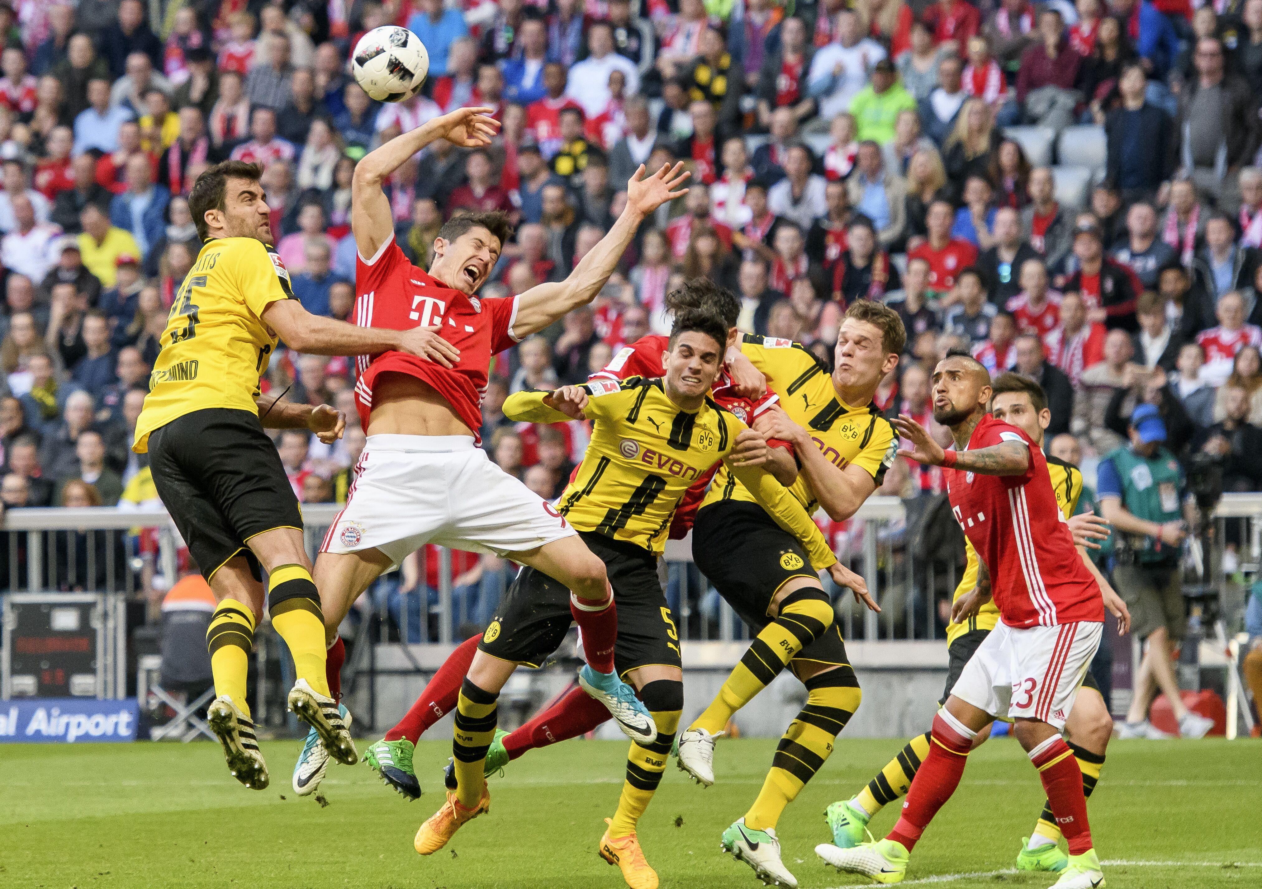 B Dortmund Vs Bayern Munich