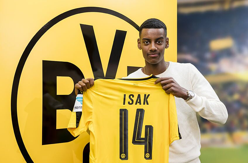 Alexander Isak is one of the most recent Winter Transfers for Borussia Dortmund.
