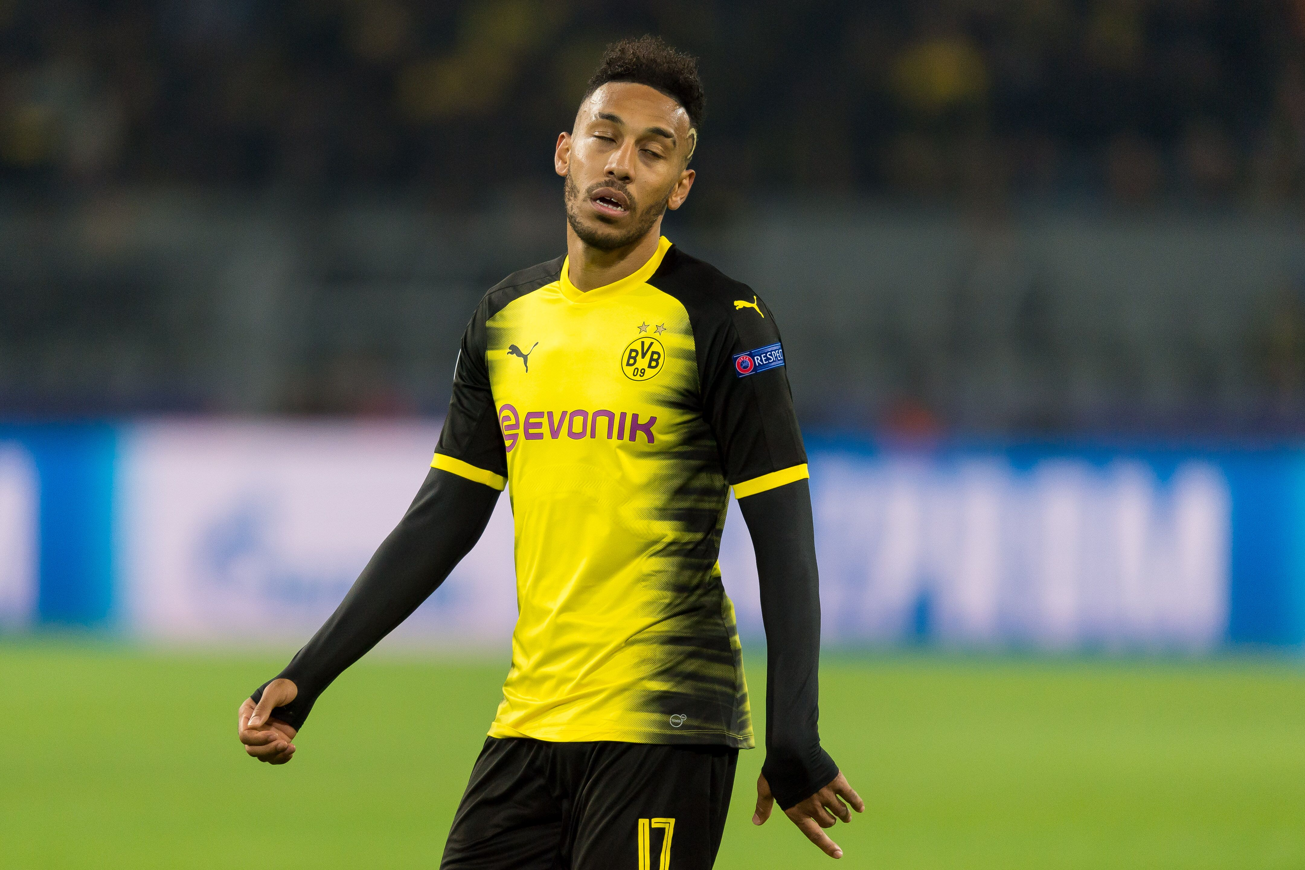 62b9a68d6 Borussia Dortmund angry with Arsenal as Aubameyang move hits a snag