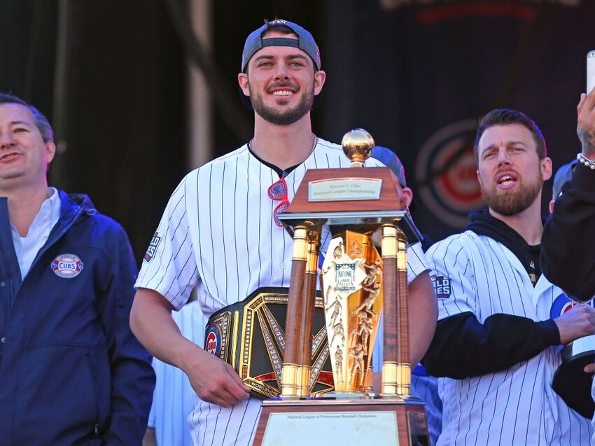 Mlb Kris Bryant Named 2016 National League Most Valuable Player