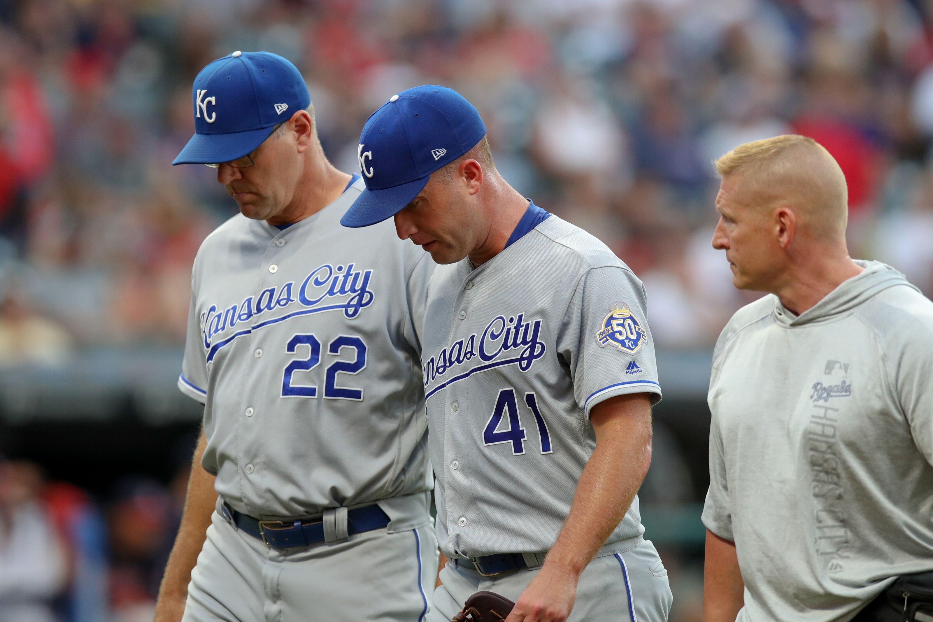 afaca3446 Kansas City Royals finally shut down Danny Duffy for season