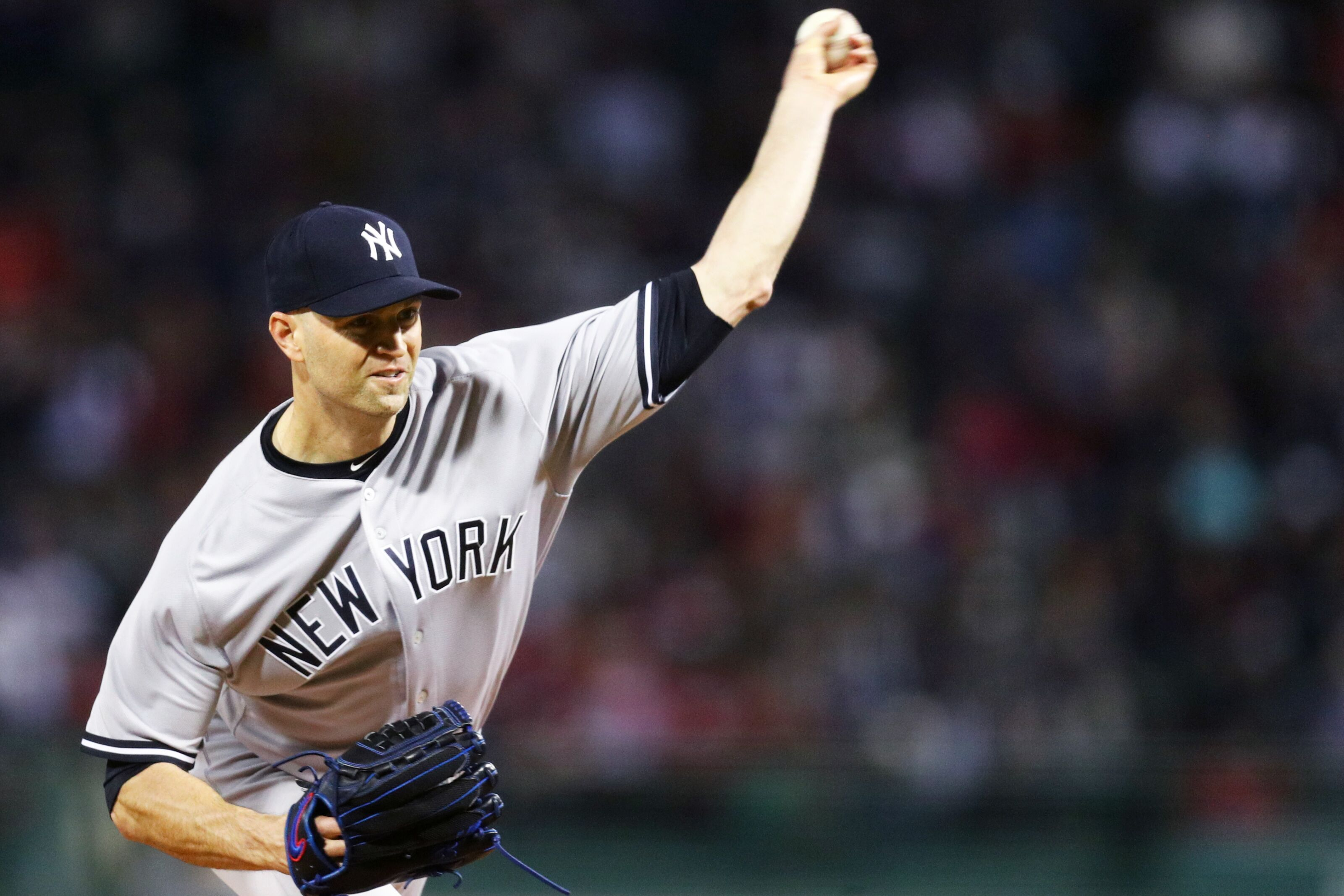New York Yankees: J.A. Happ, team's 5th starter… for now