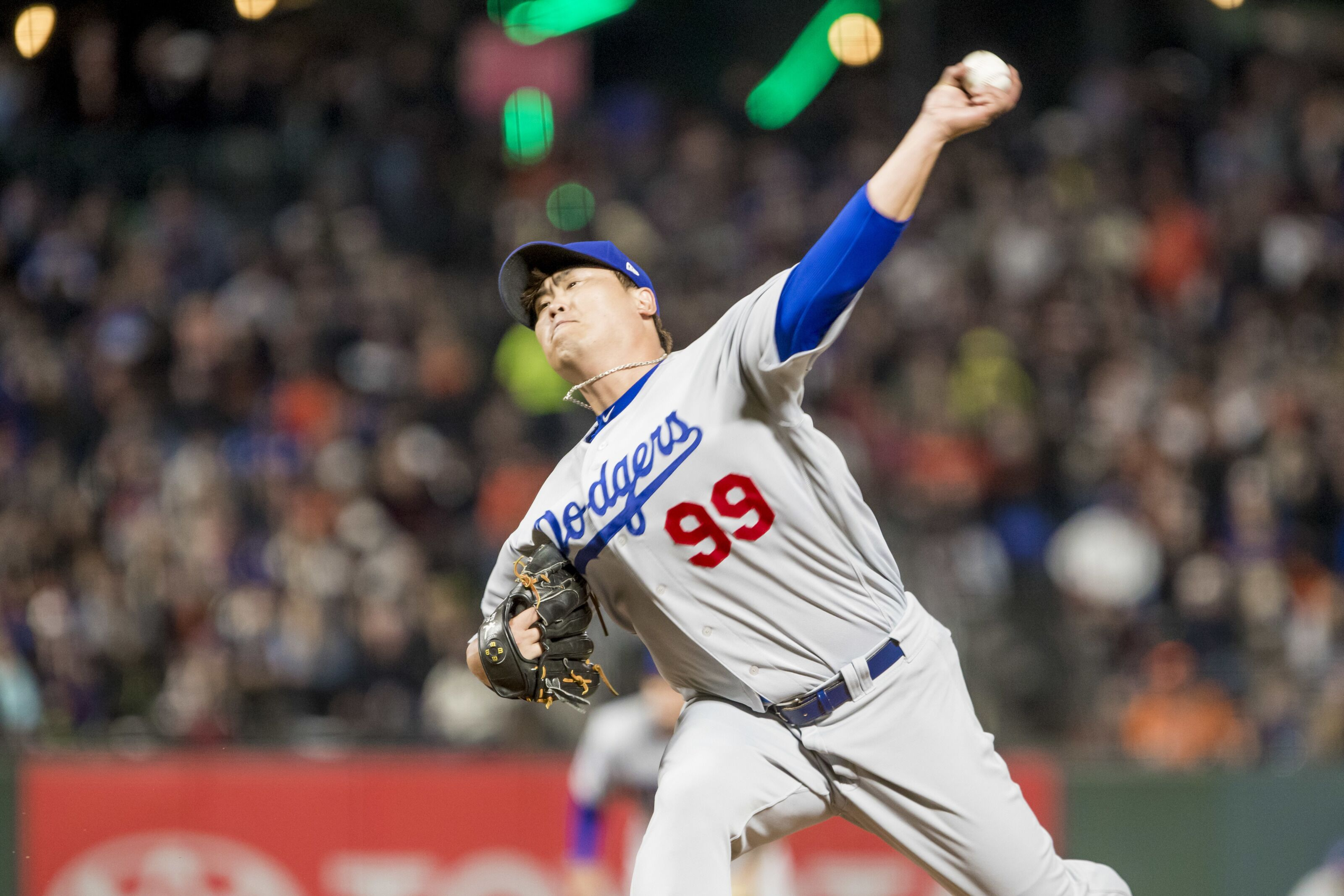 fcb92b121a4 Los Angeles Dodgers gamble with Hyun-Jin Ryu against Atlanta Braves