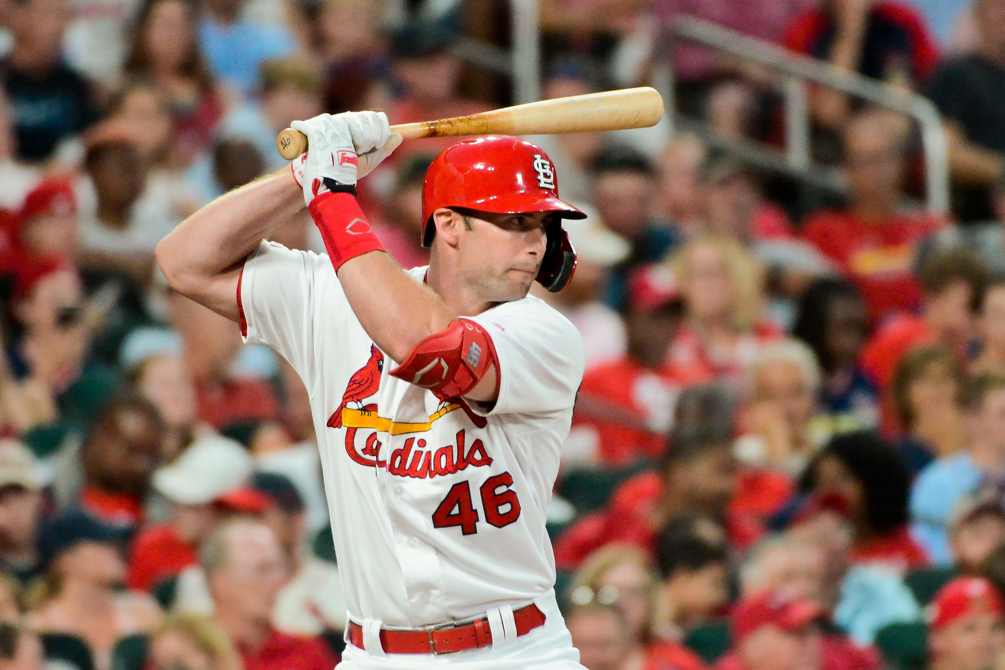 77785432 St. Louis Cardinals: Paul Goldschmidt's new swing leads to power surge
