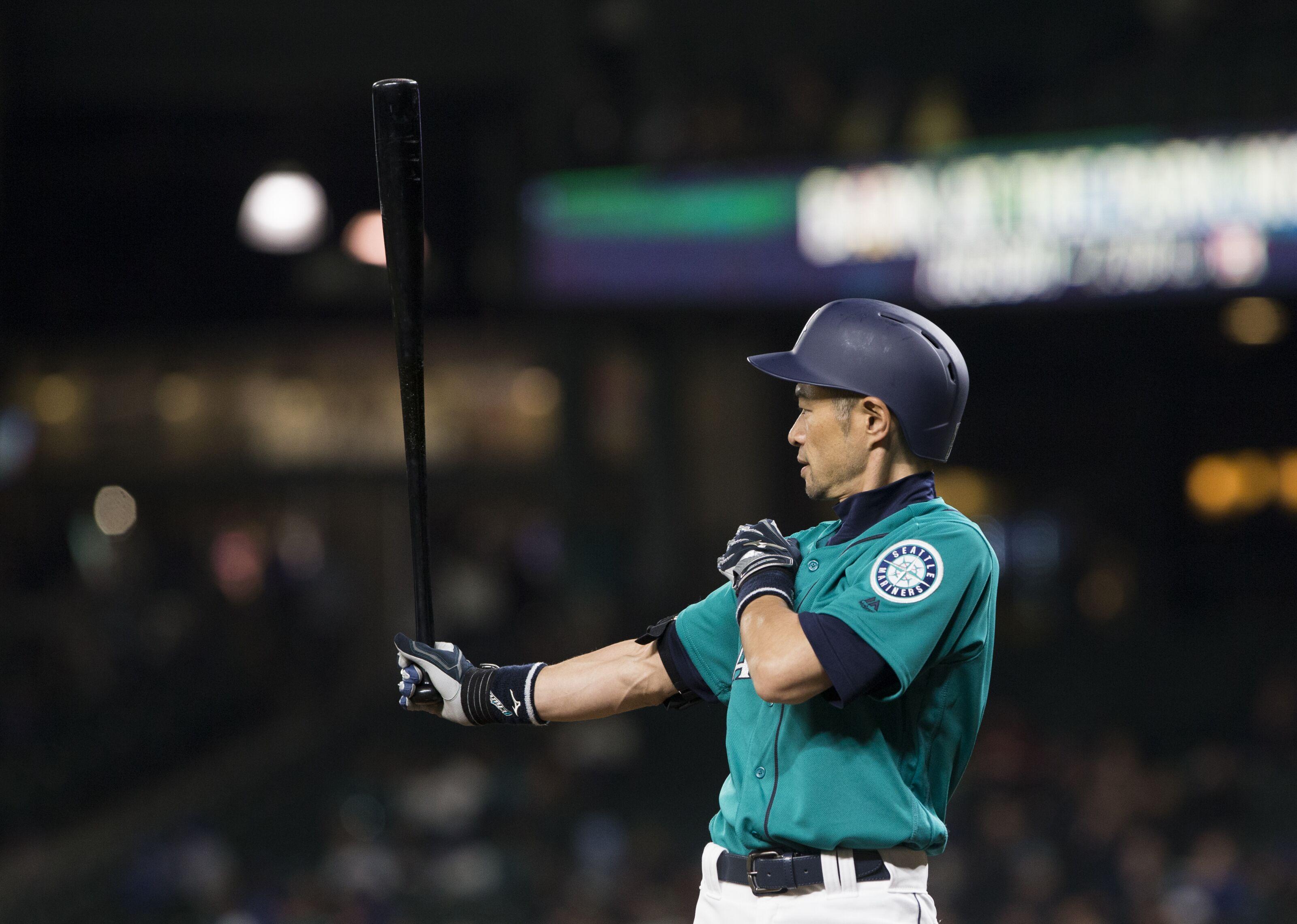 Ichiro Batting Stance