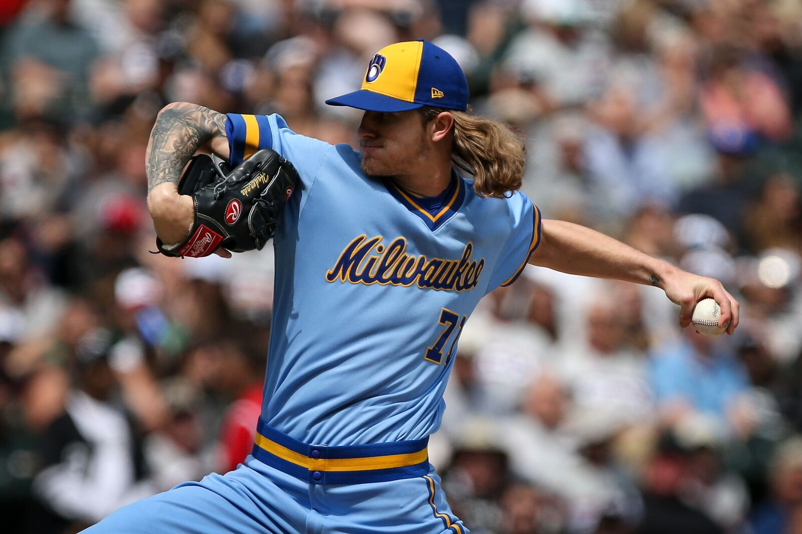 42f62d18a60c2 Milwaukee Brewers  Josh Hader could be even better this season