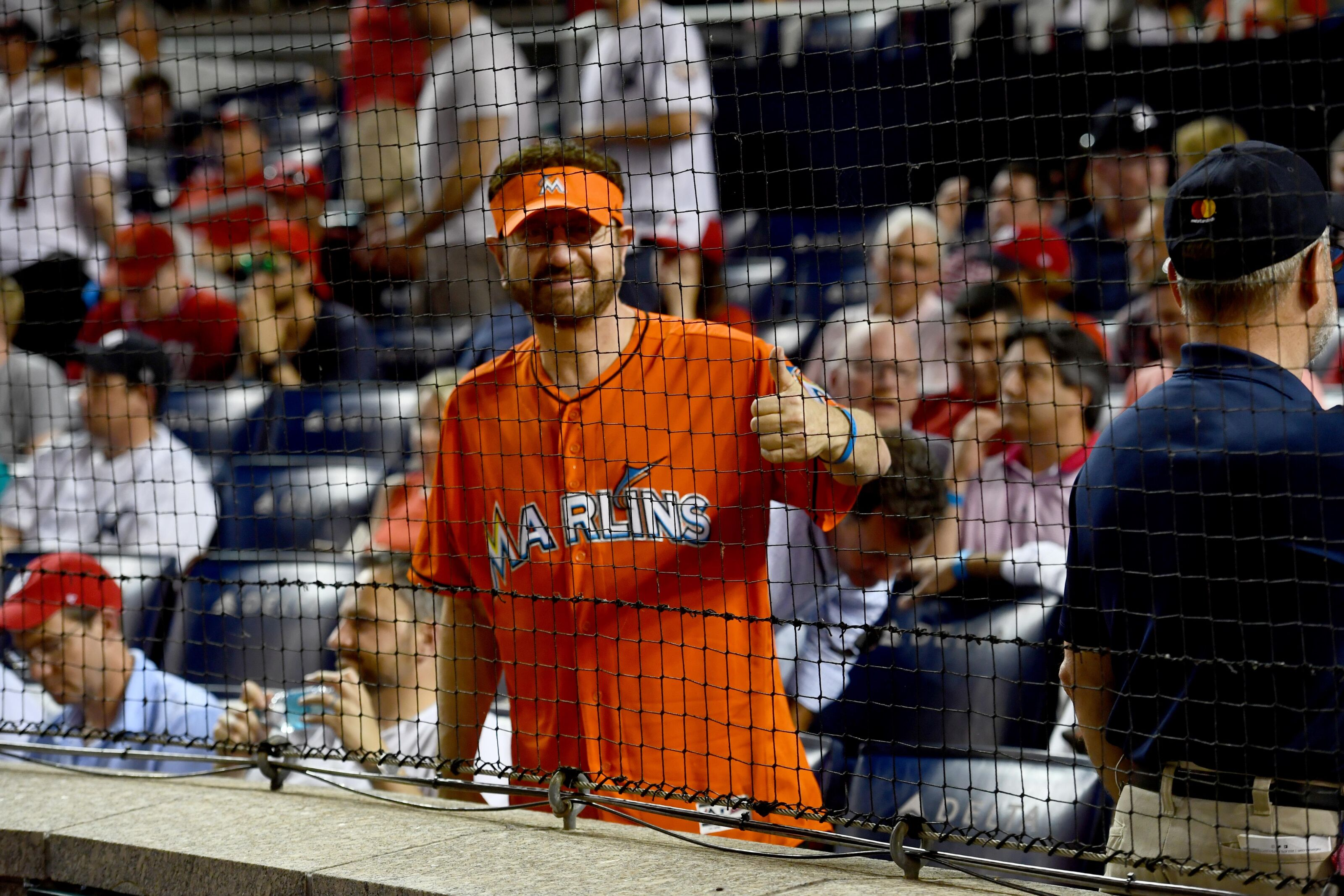 4330fa07fa9 Miami Marlins  Marlins Man is back...for a day