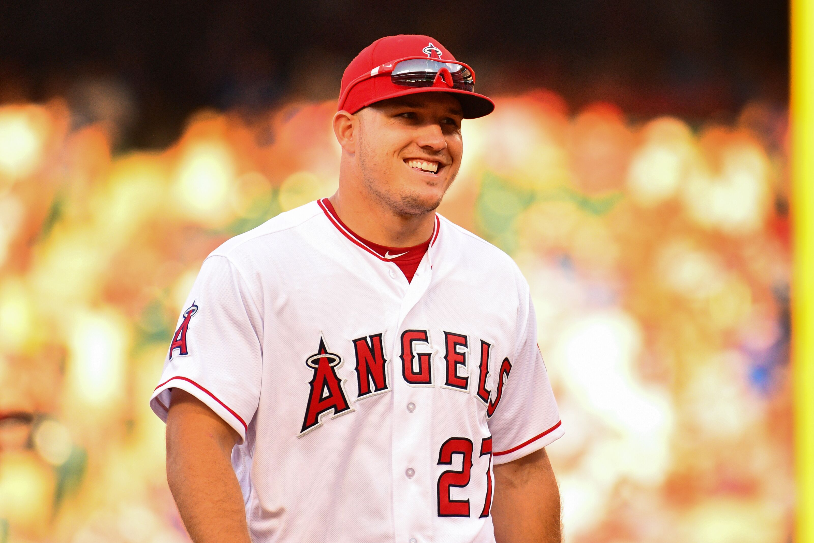 Los Angeles Angels: Manfred comes after Mike Trout