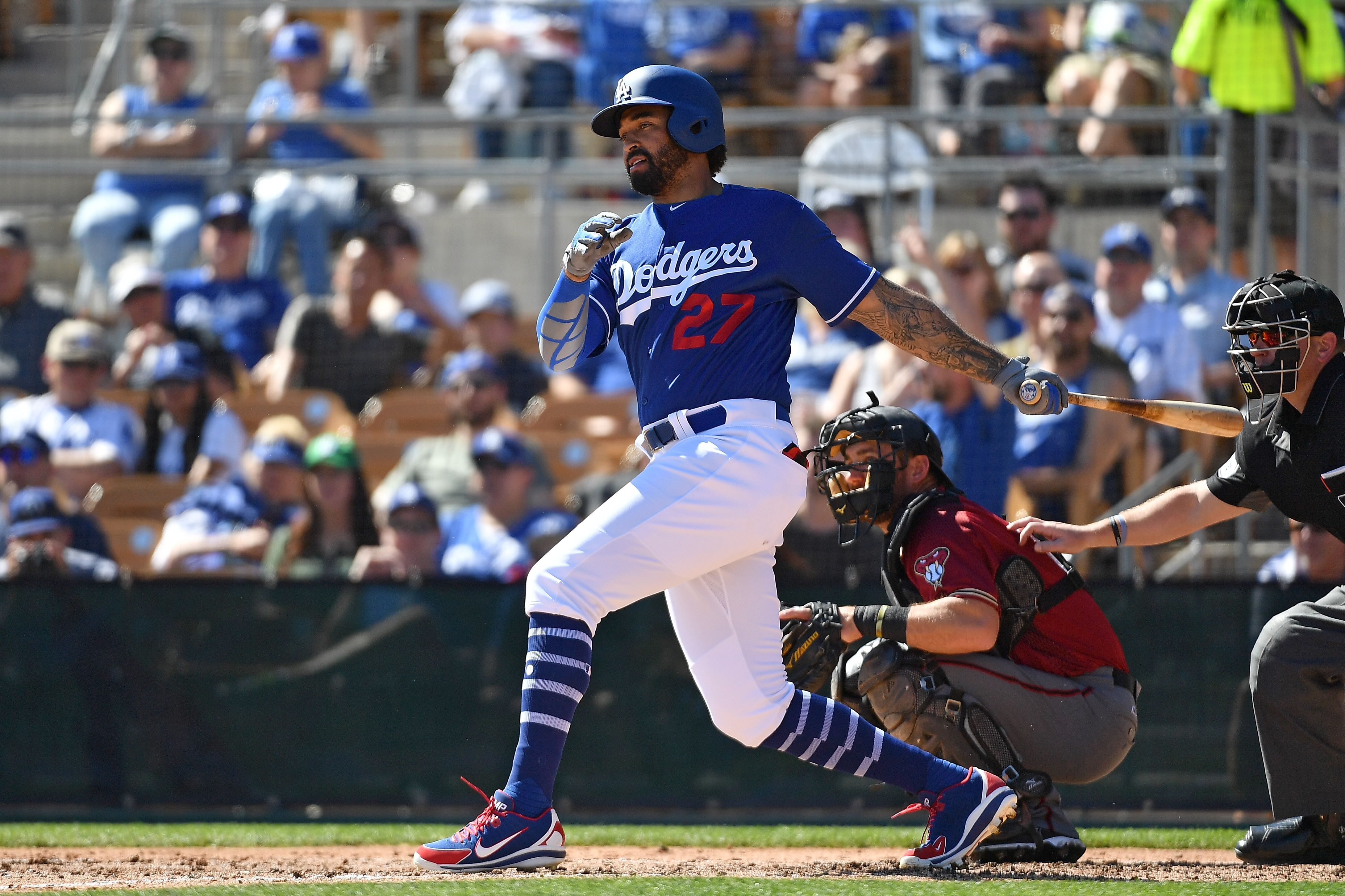 Los Angeles Dodgers  Matt Kemp making a strong case opening day nod 13cdbe8439d
