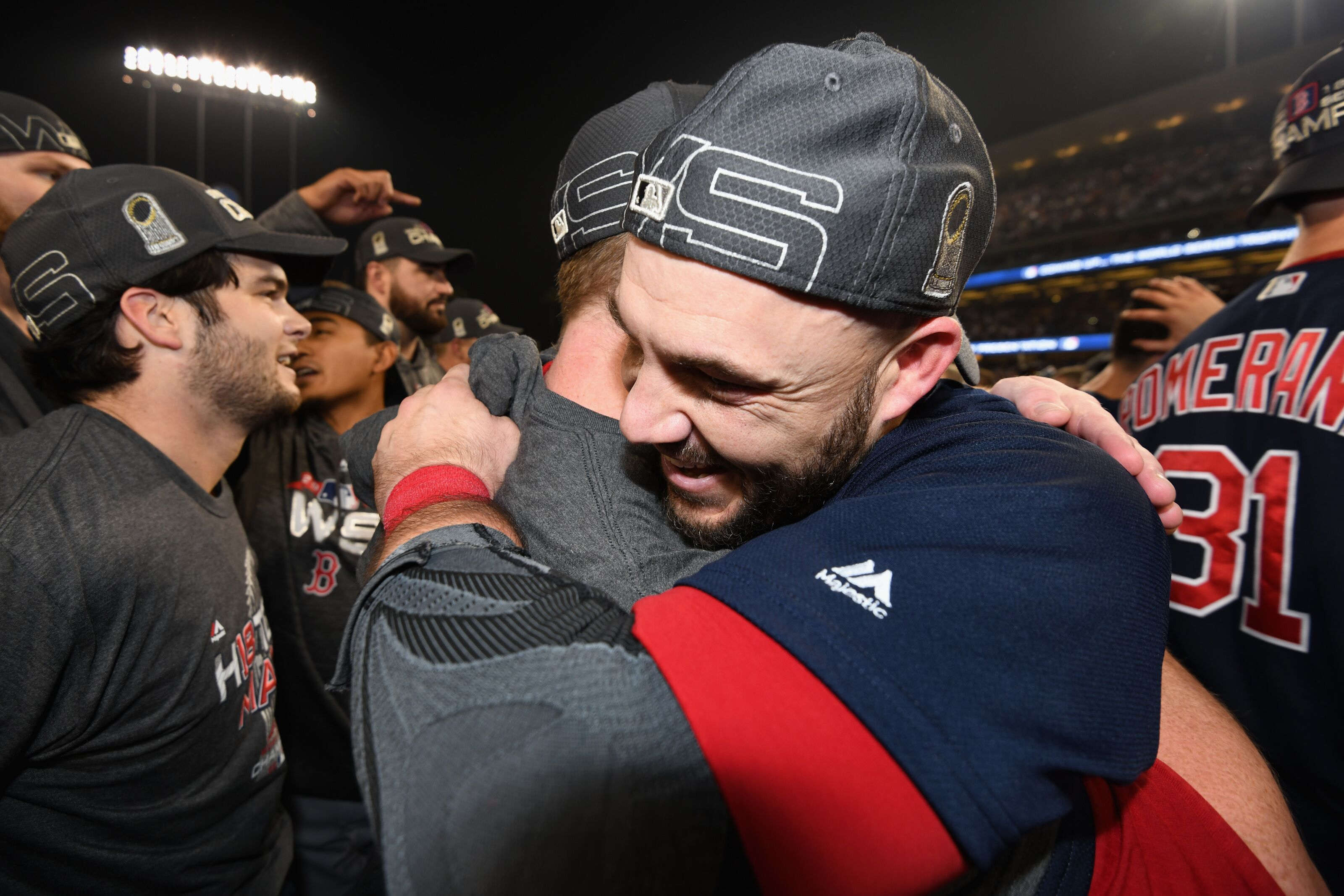 682776c6335df Boston strongest  Red Sox win the World Series with 5-1 Game 5 victory