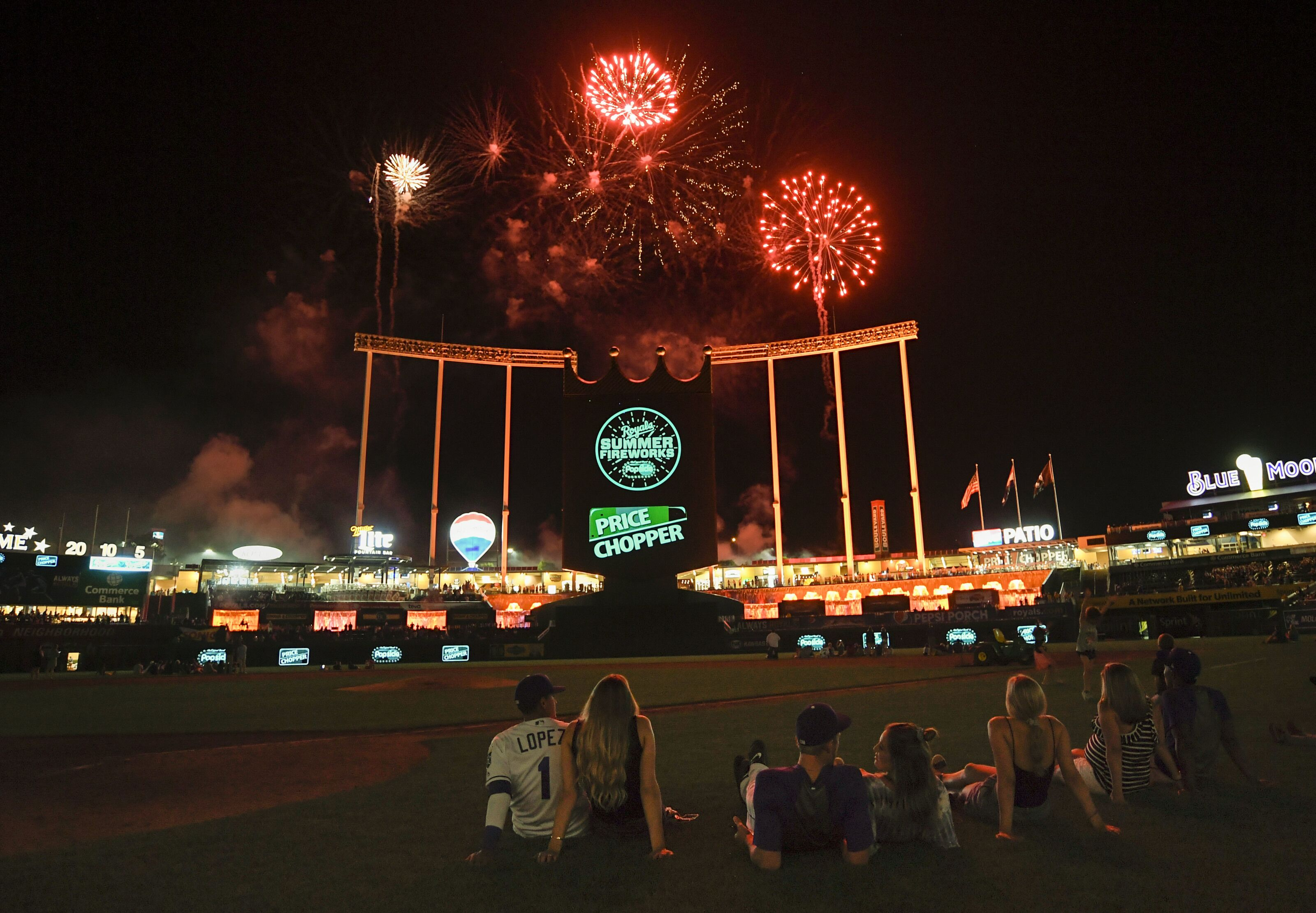 Are the Kansas City Royals willing to leave Kauffman Stadium?