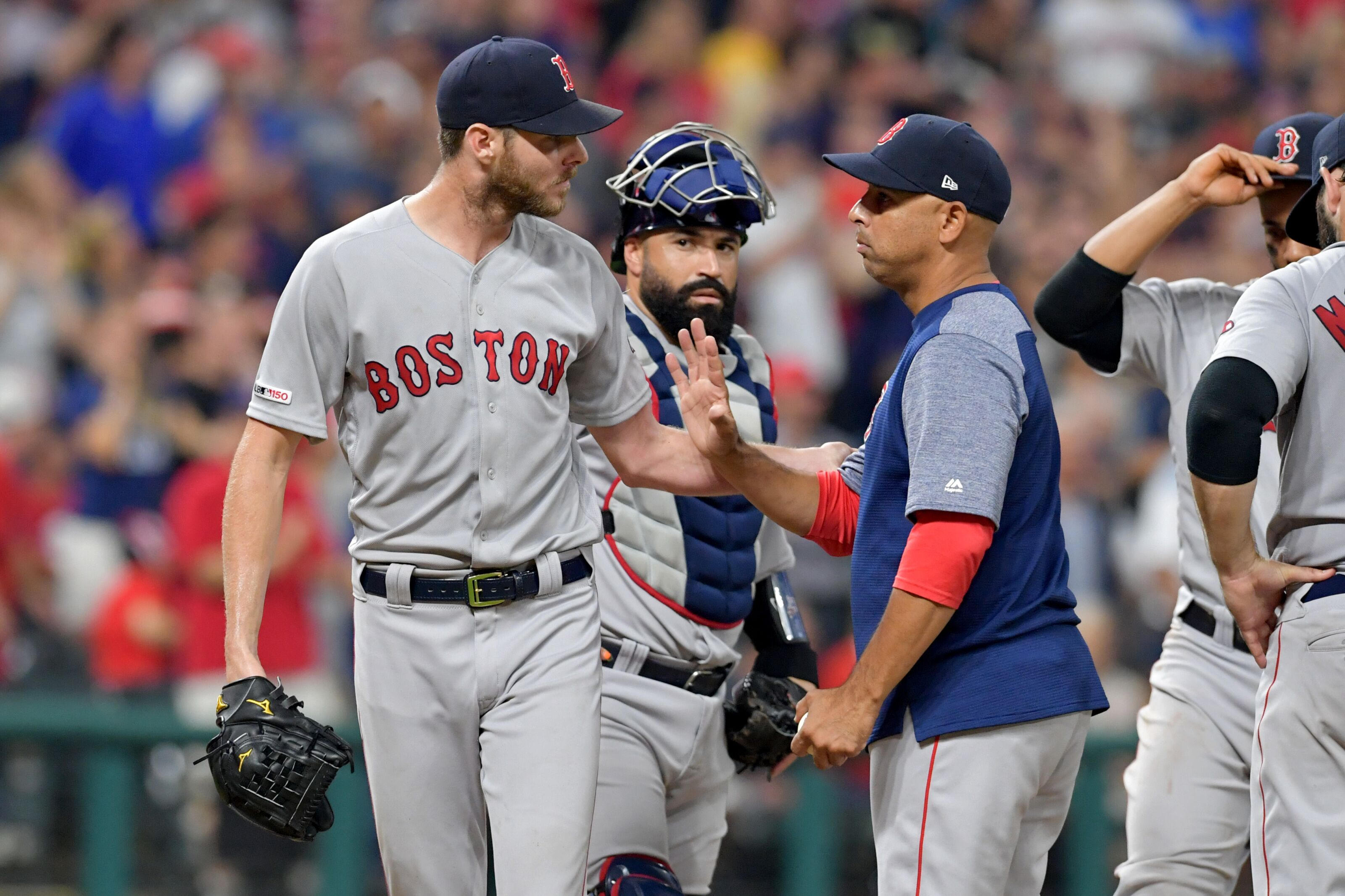 Red Sox: Chris Sale Done For The Year, Avoids Tommy John Surgery