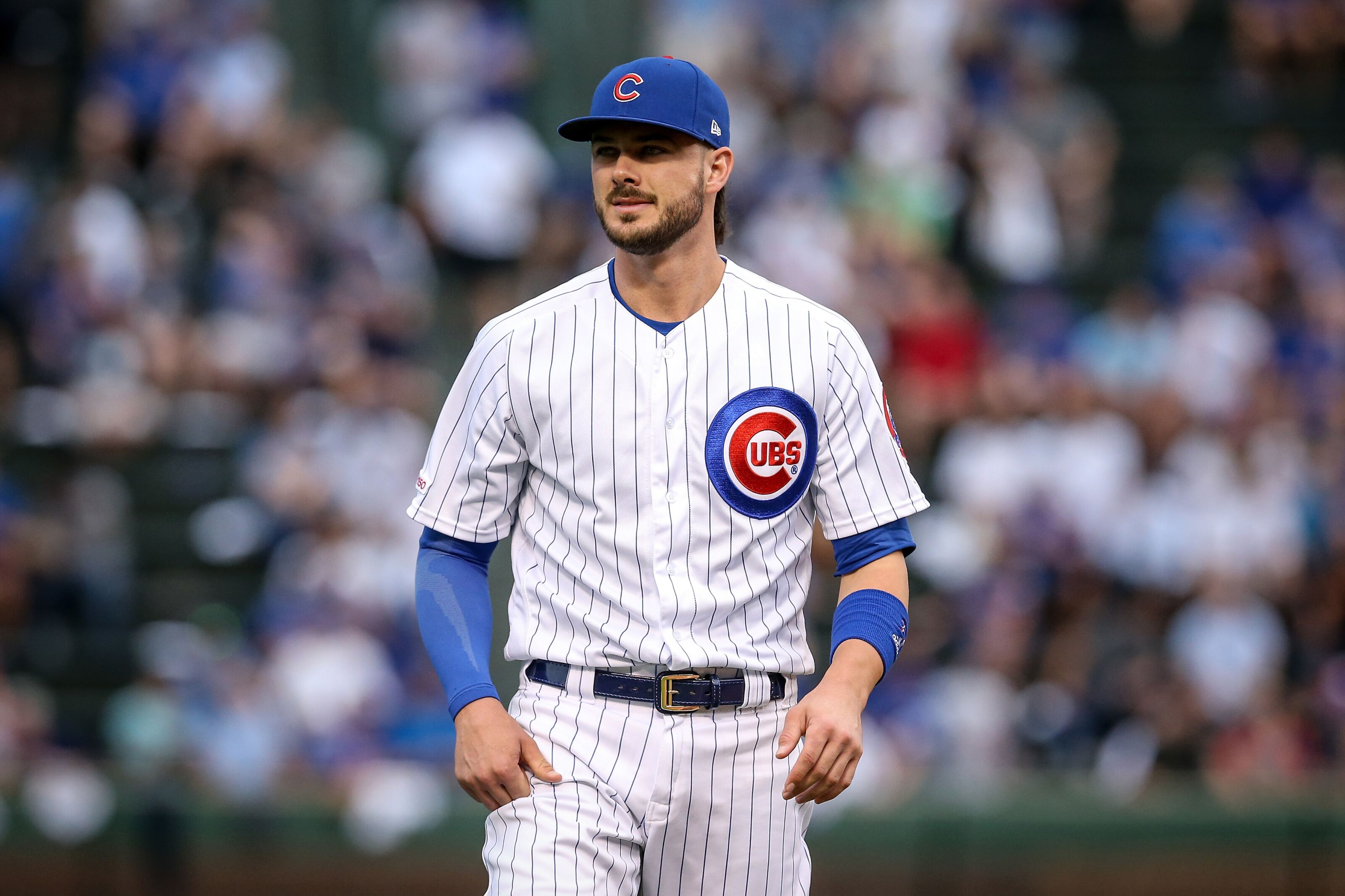 Will the Chicago Cubs trade star third baseman Kris Bryant?