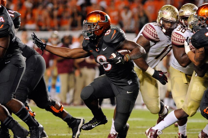 8ffca70c2 Miami Hurricanes Football  The Best Five Uniforms Of the Nike Era