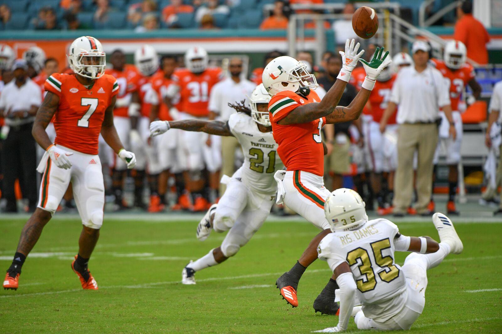 Miami football recruiting: 2021 class building deep WR group