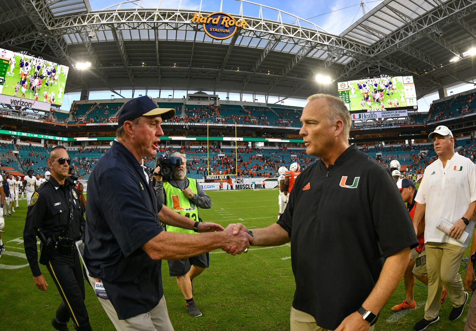 Miami Hurricanes at FIU will be played in November 2019