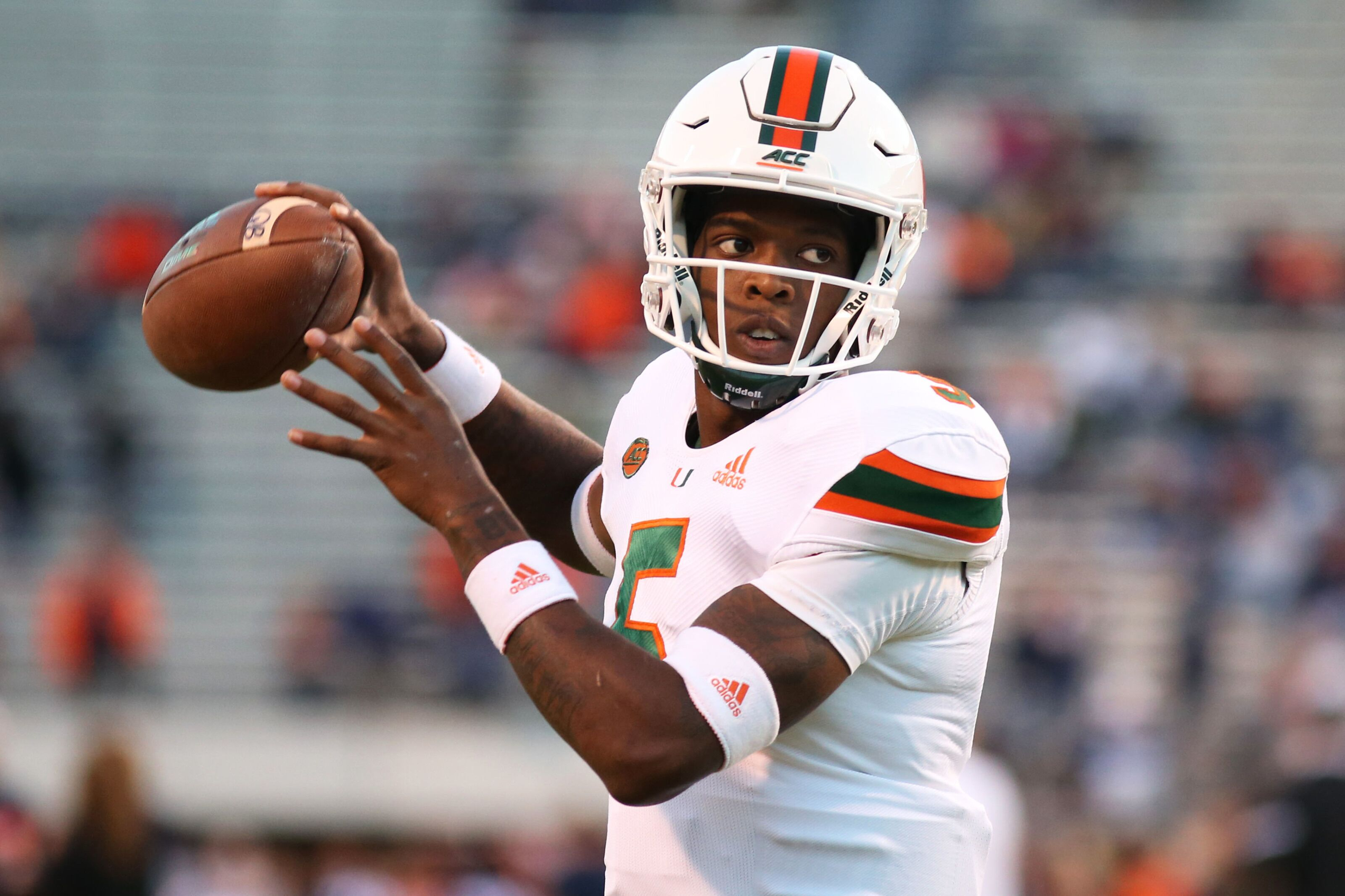 Talent at quarterback for Miami football team is reason for optimism