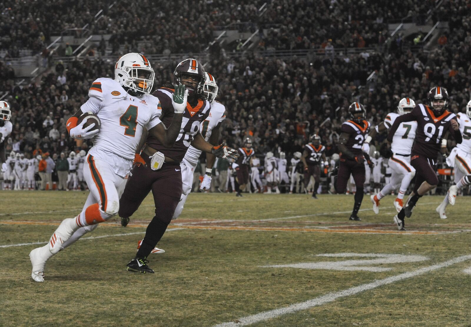 Miami football coaching staff believes WR success is coming