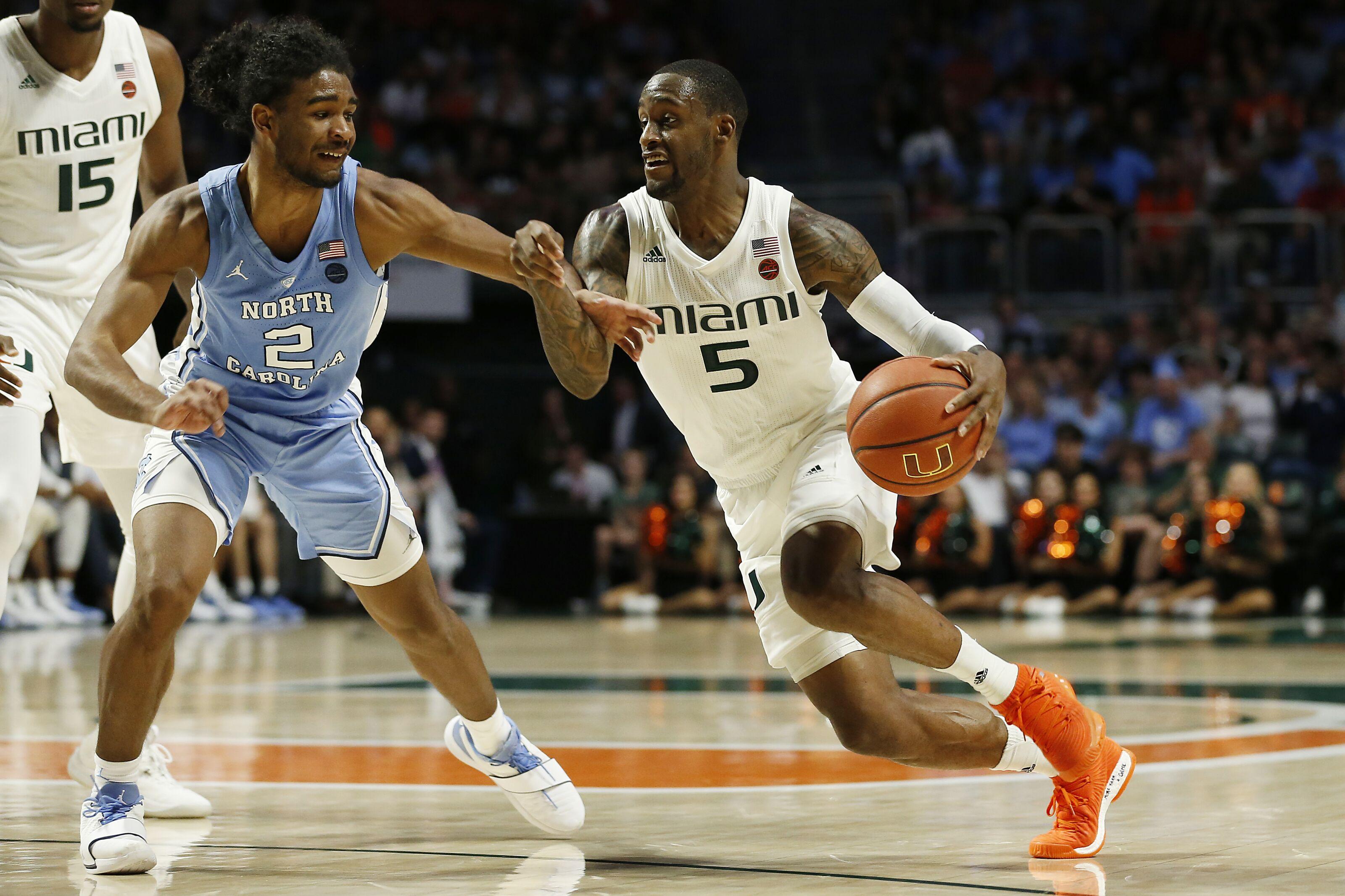 22969538206 Miami basketball ends brutal stretch at North Carolina