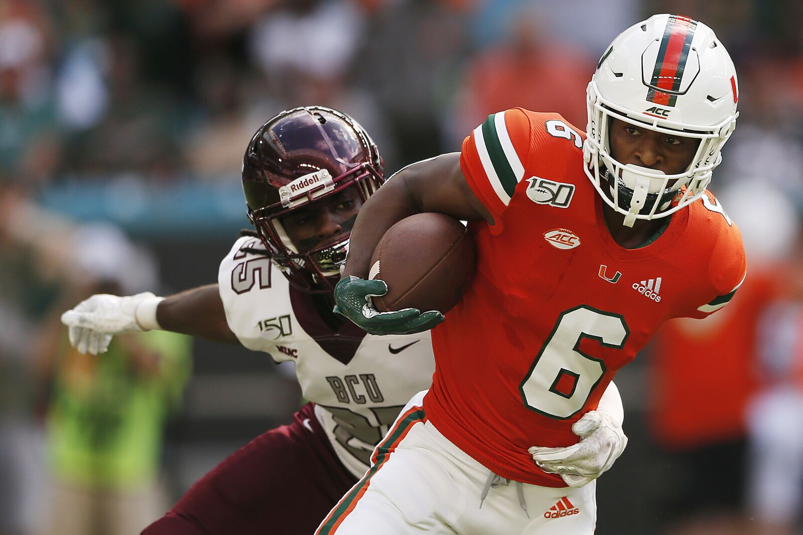 Miami football sees explosiveness needed from Mark Pope