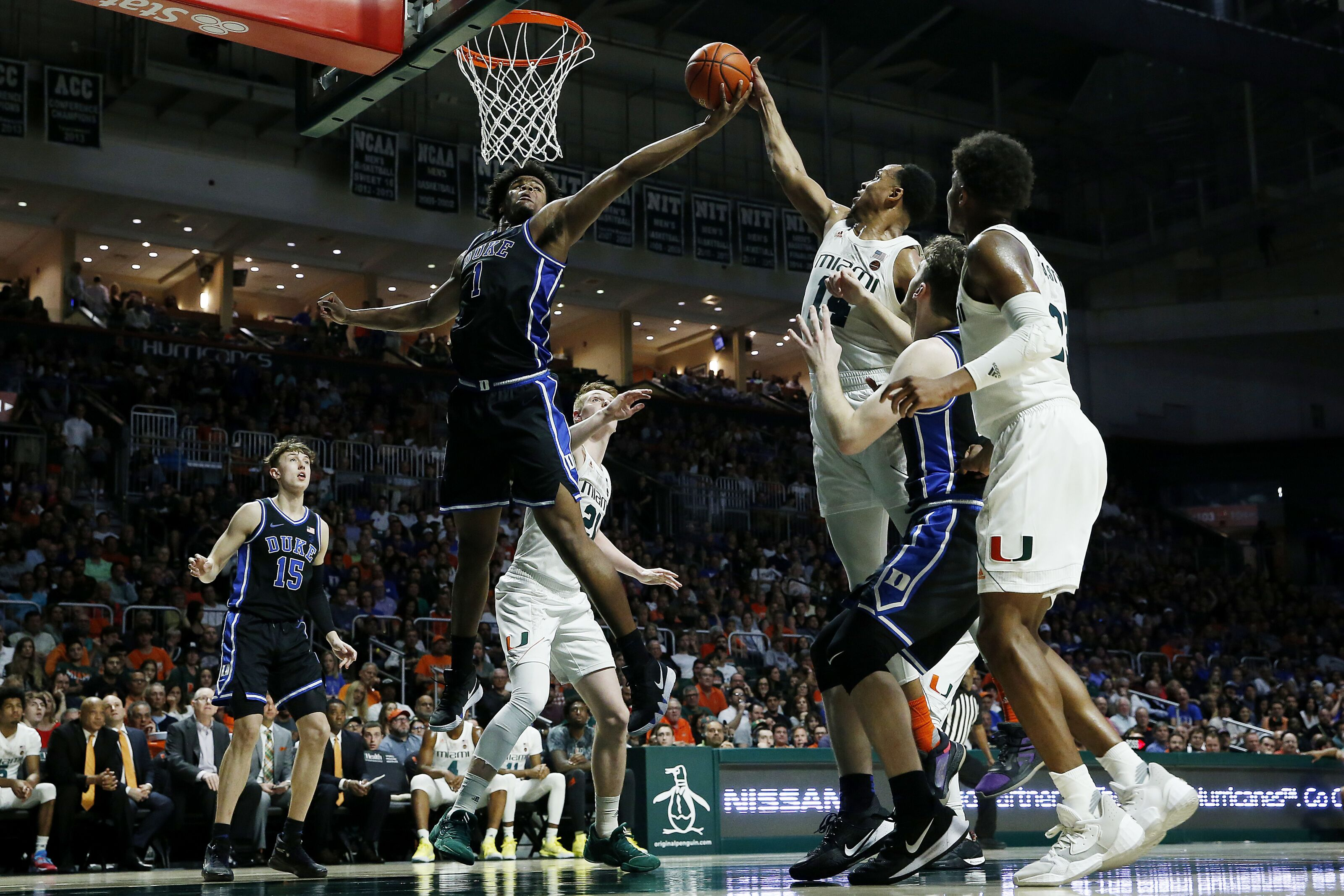 Miami basketball travels to Duke with two game losing streak for both teams: Game Info
