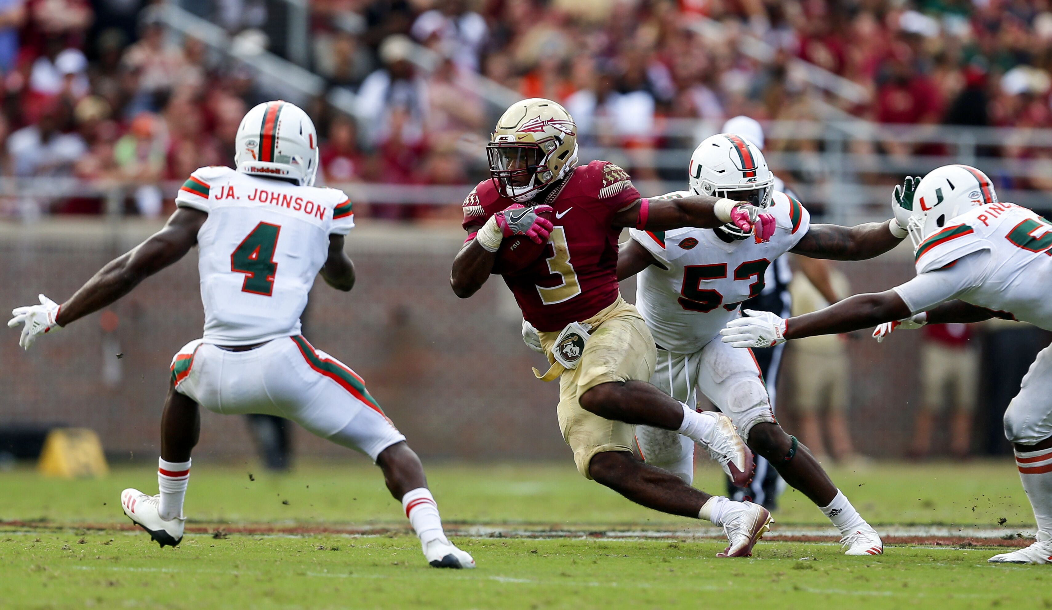 The ultimate home for Florida State Seminoles news rumors player and team updates commentary recruiting analysis and opinion Covering FSU football FSU