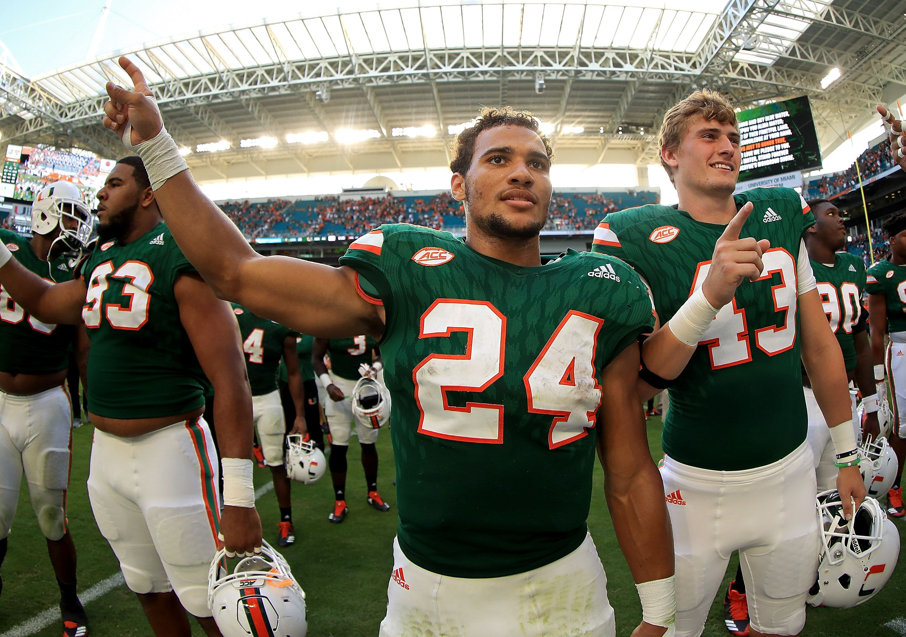 online retailer c8484 9bceb Two Miami Hurricanes signees ranked in top 25 off players in ...