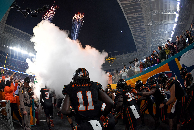 Miami football to wear environmentally-conscious uniforms in 2018 f0aa73aa3