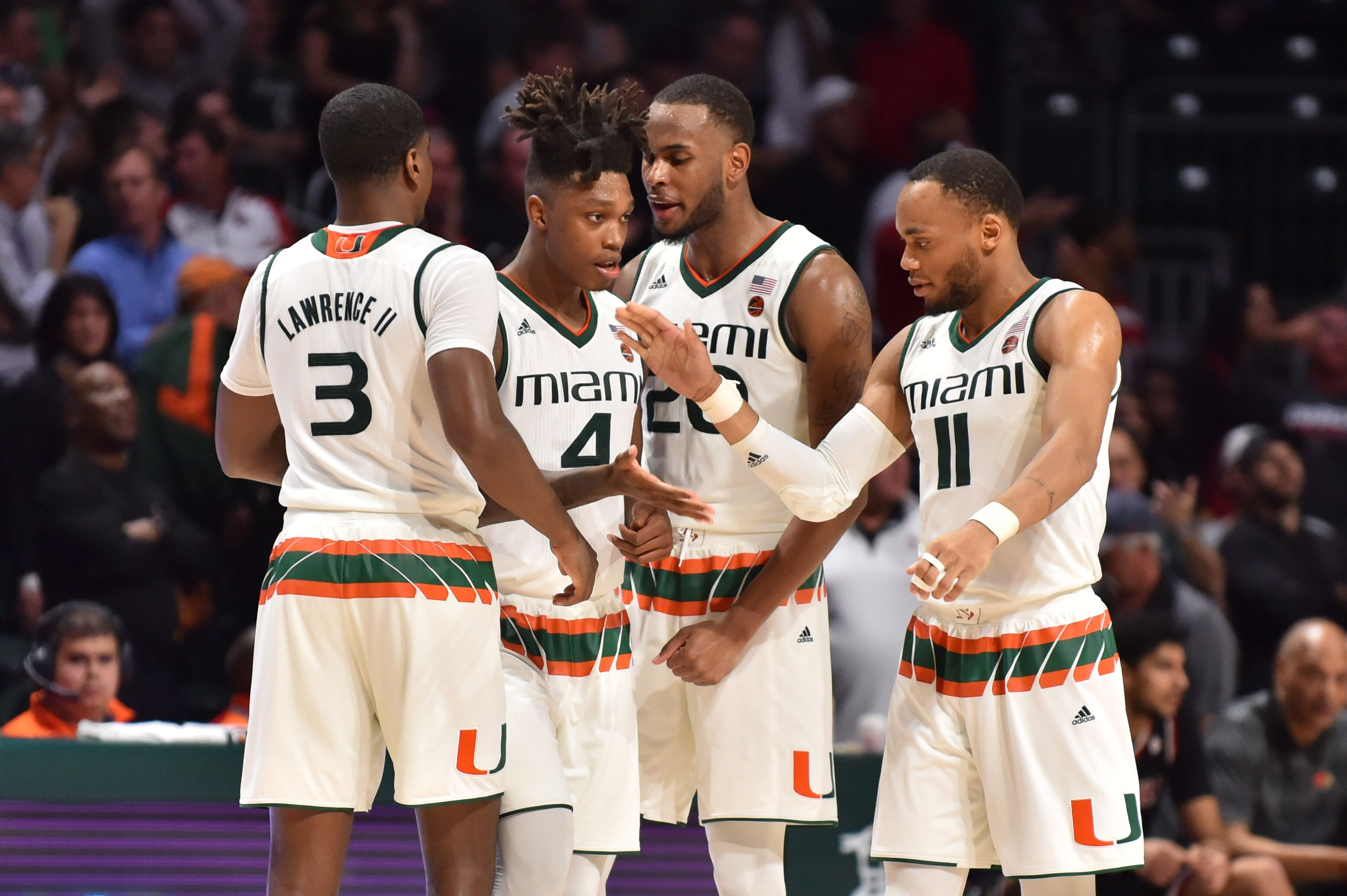sports shoes 7e7b2 38aa2 Miami Basketball gets high rating in ESPN BPI for 2018-19