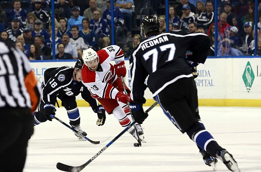 Carolina Hurricanes: Derek Ryan gets another shot in the NHL (Video)
