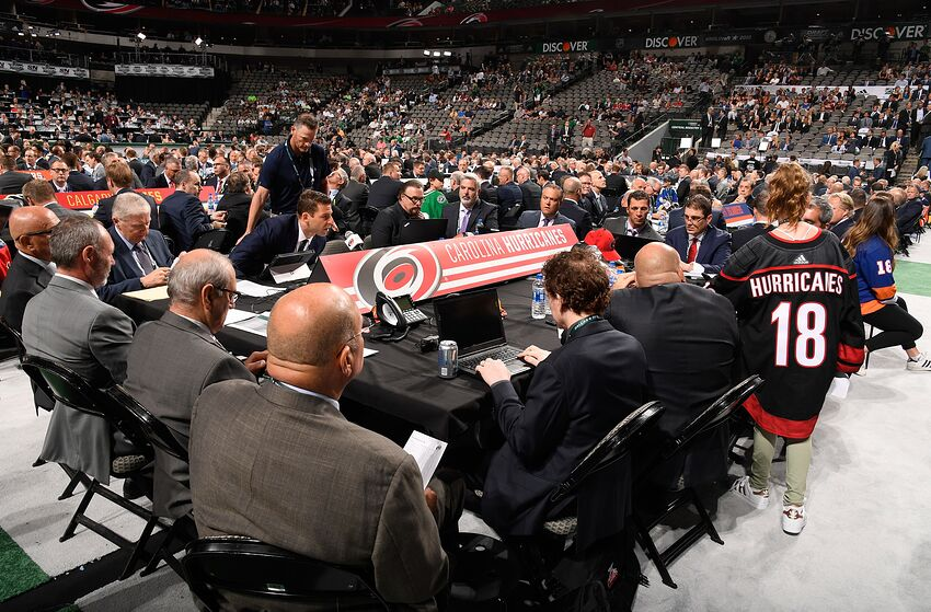 Carolina Hurricanes: Trading Up in the 2019 NHL Entry Draft