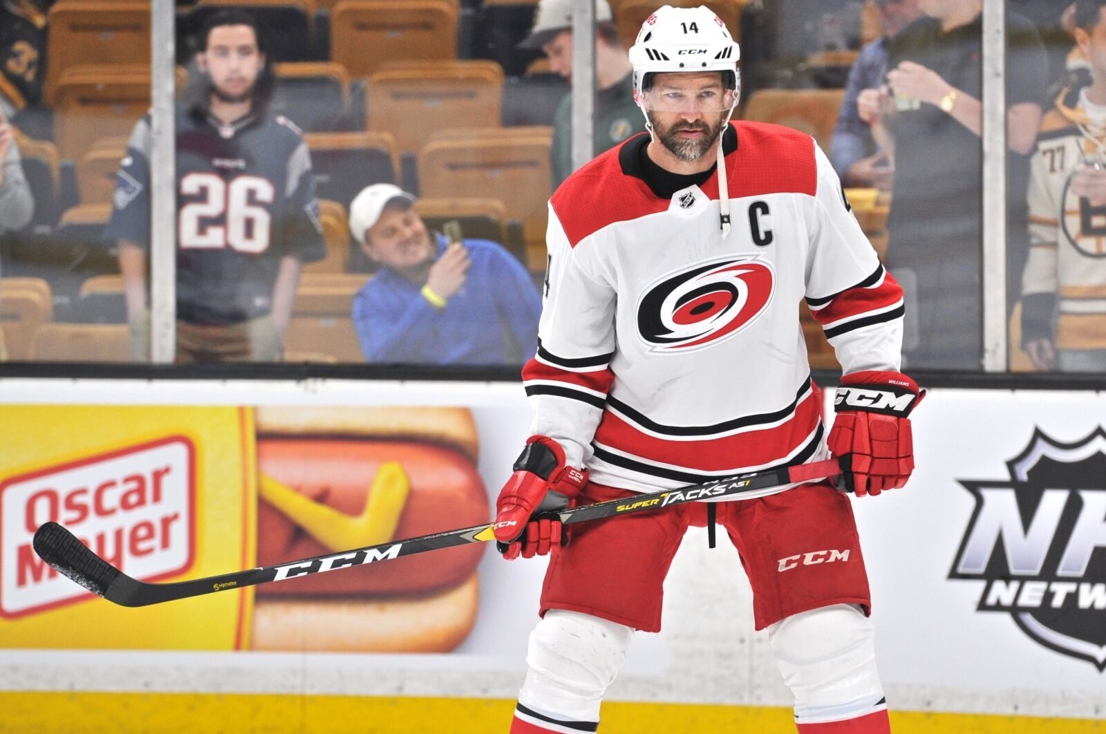 Carolina Hurricanes: What's going on with Justin Williams?