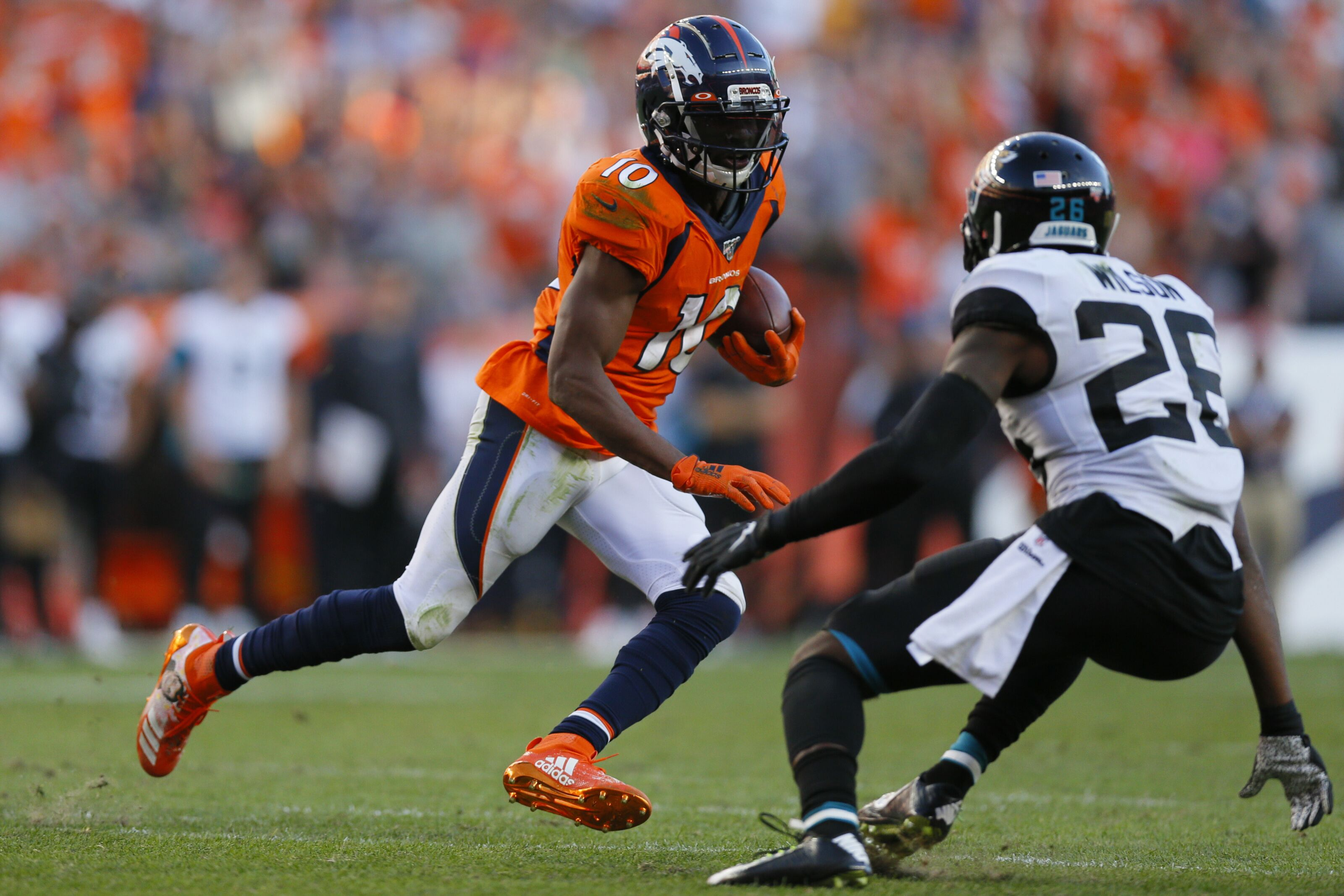 Carolina Panthers should inquire about Emmanuel Sanders