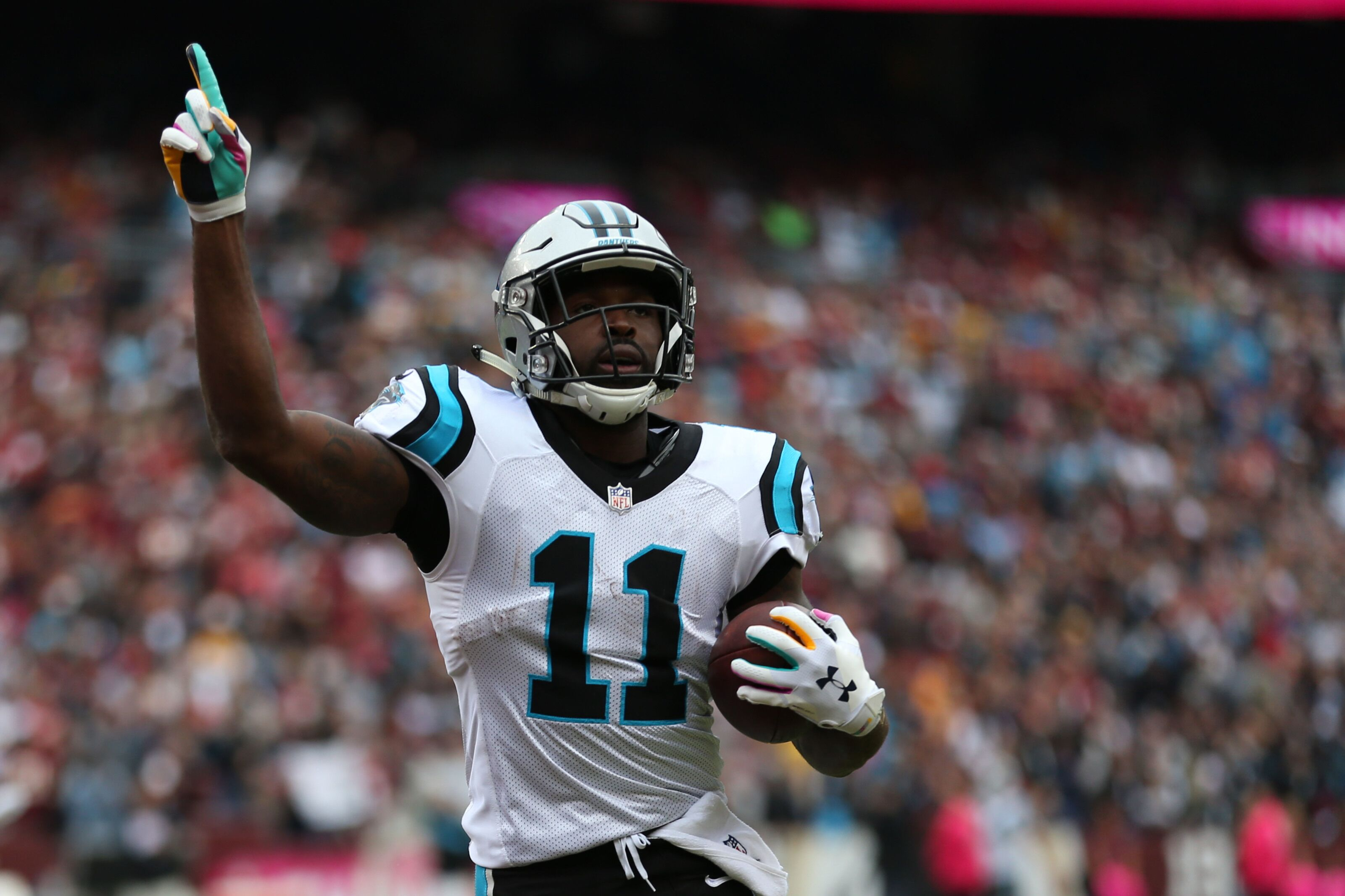 Torrey Smith only player on injury report for Panthers