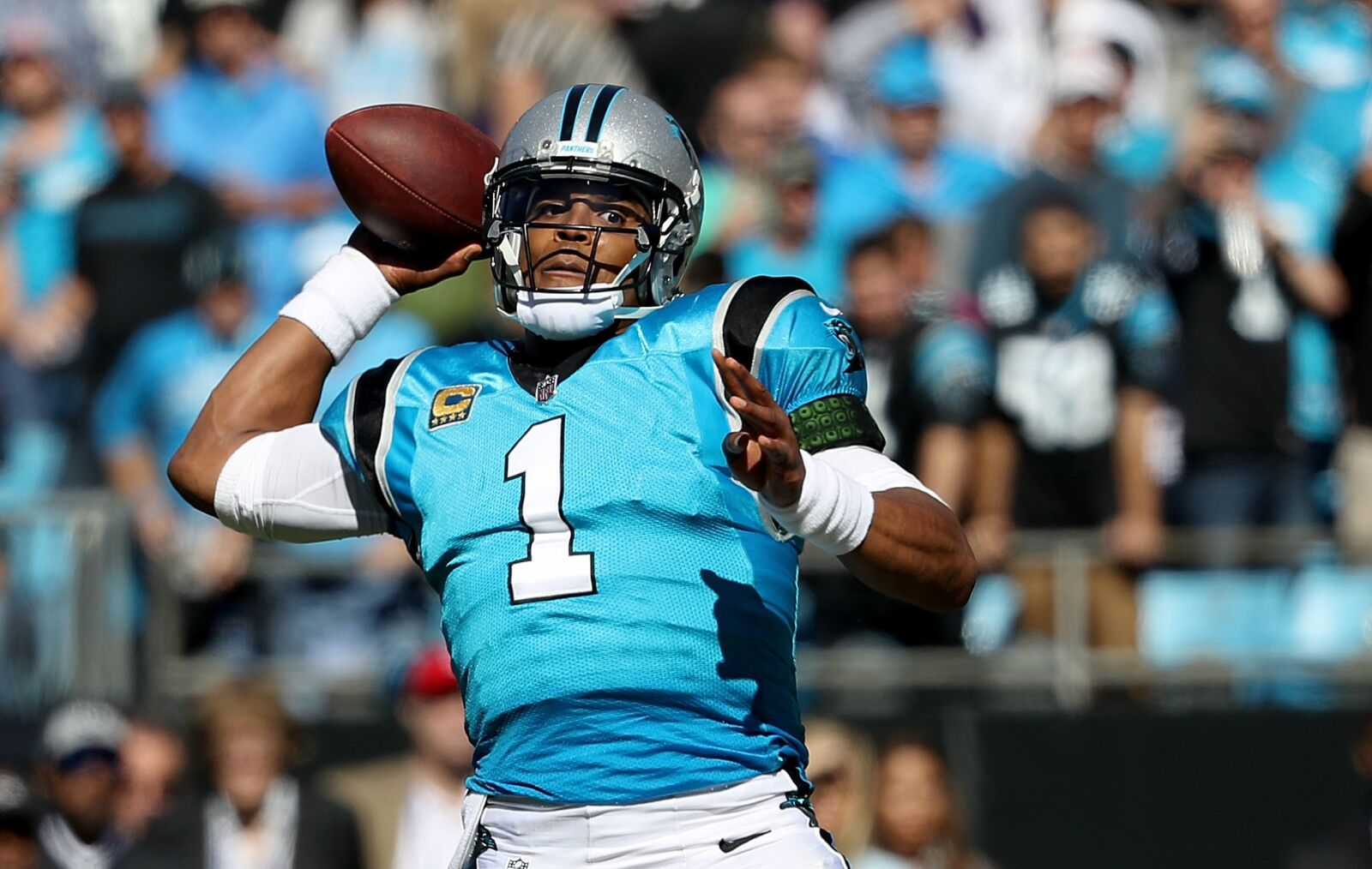 dcc767066 Carolina Panthers quarterback Cam Newton smartly has surgery Thursday