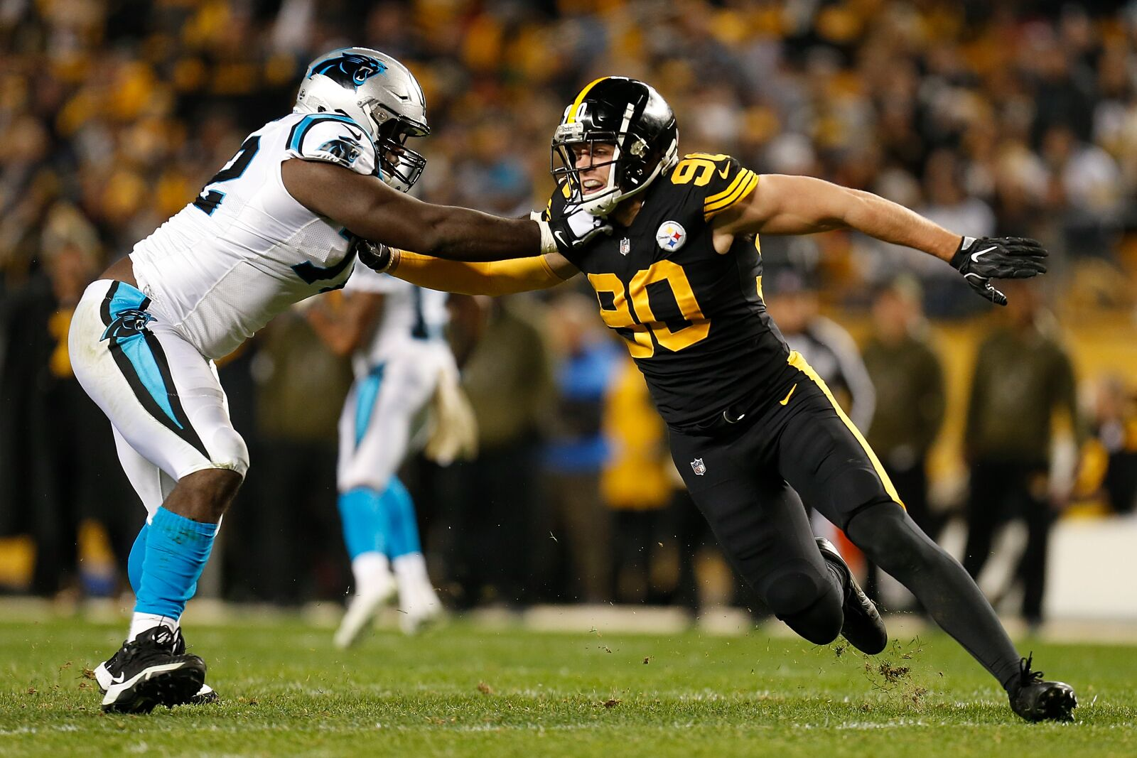 Carolina Panthers: Offensive line gets early, yet exciting, praise
