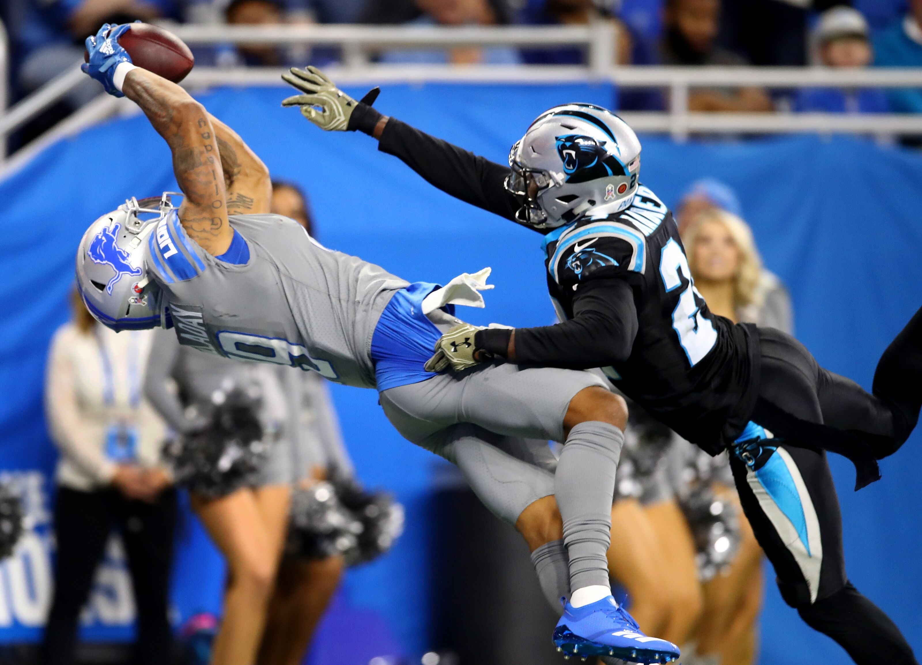 c92536640 Carolina Panthers grades suffer from poor Week 11 performance